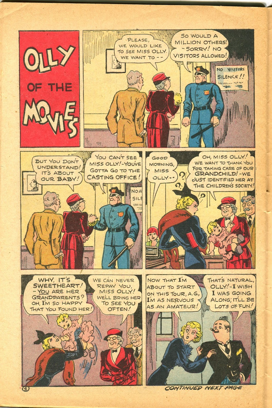 Read online Famous Funnies comic -  Issue #119 - 46