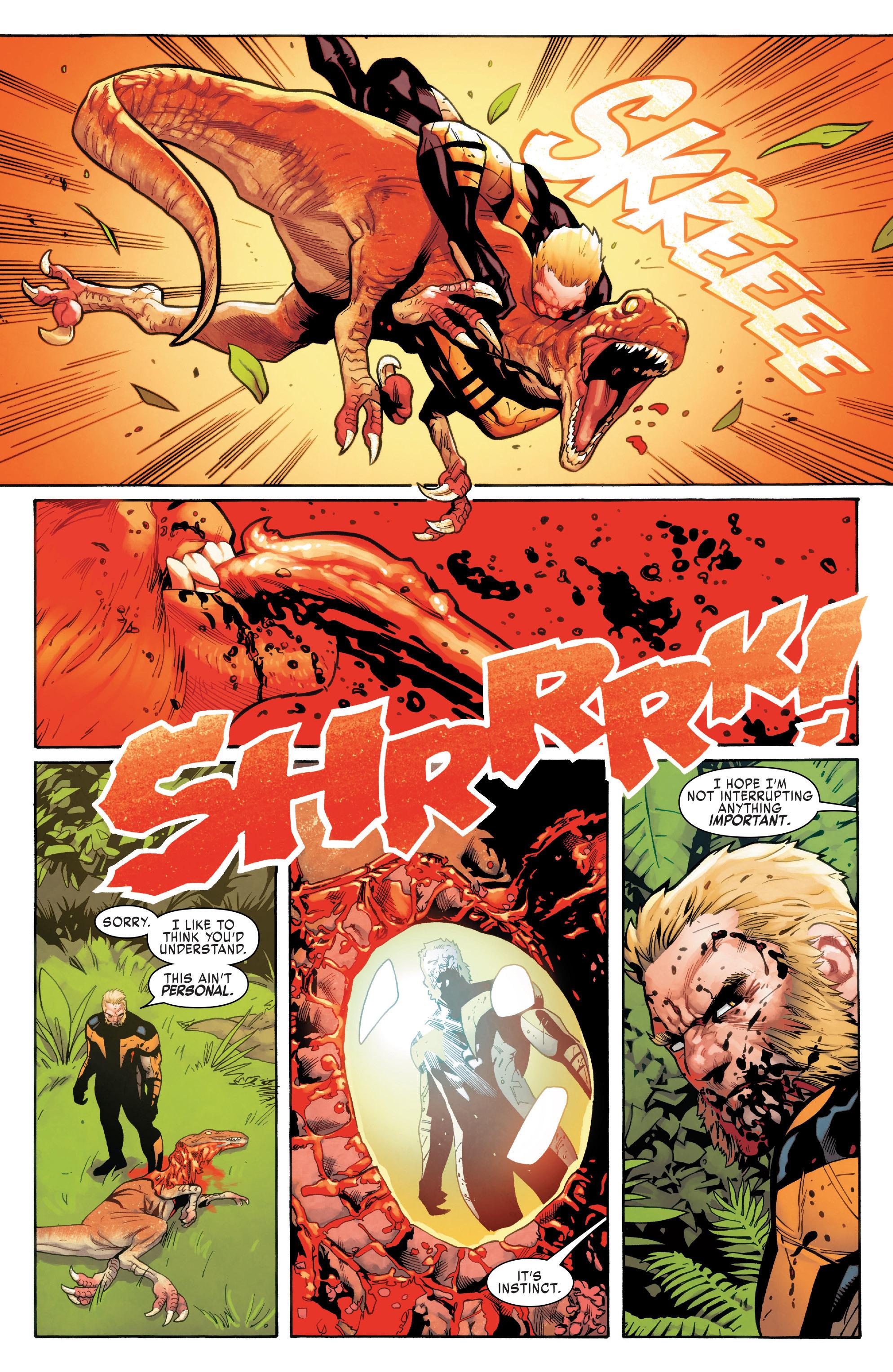 Read online Uncanny X-Men (2016) comic -  Issue #11 - 17