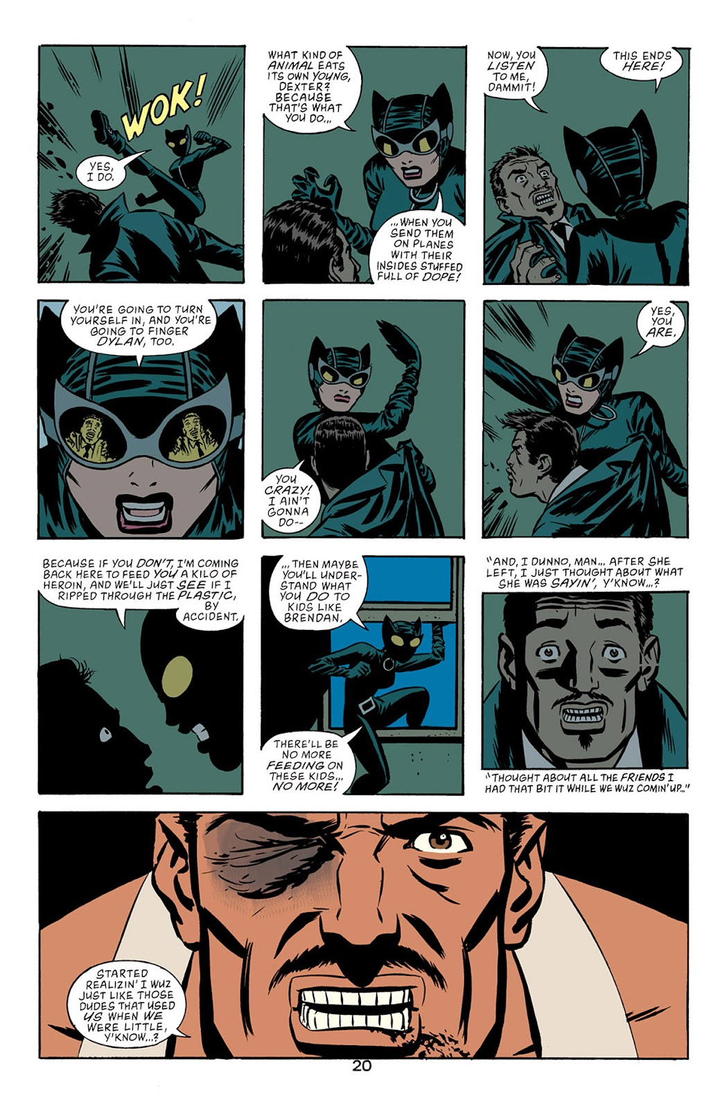 Catwoman (2002) Issue #5 #5 - English 21