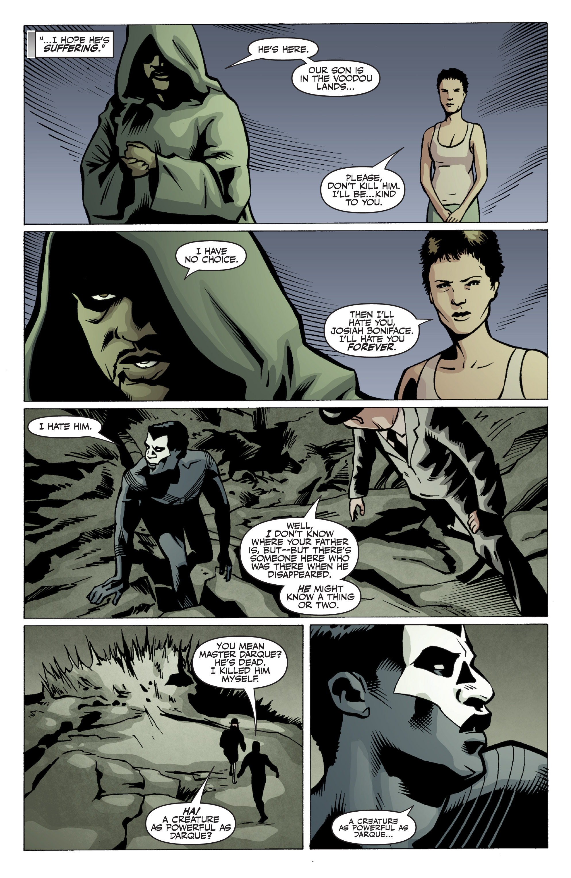 Read online Shadowman: End Times comic -  Issue #2 - 24