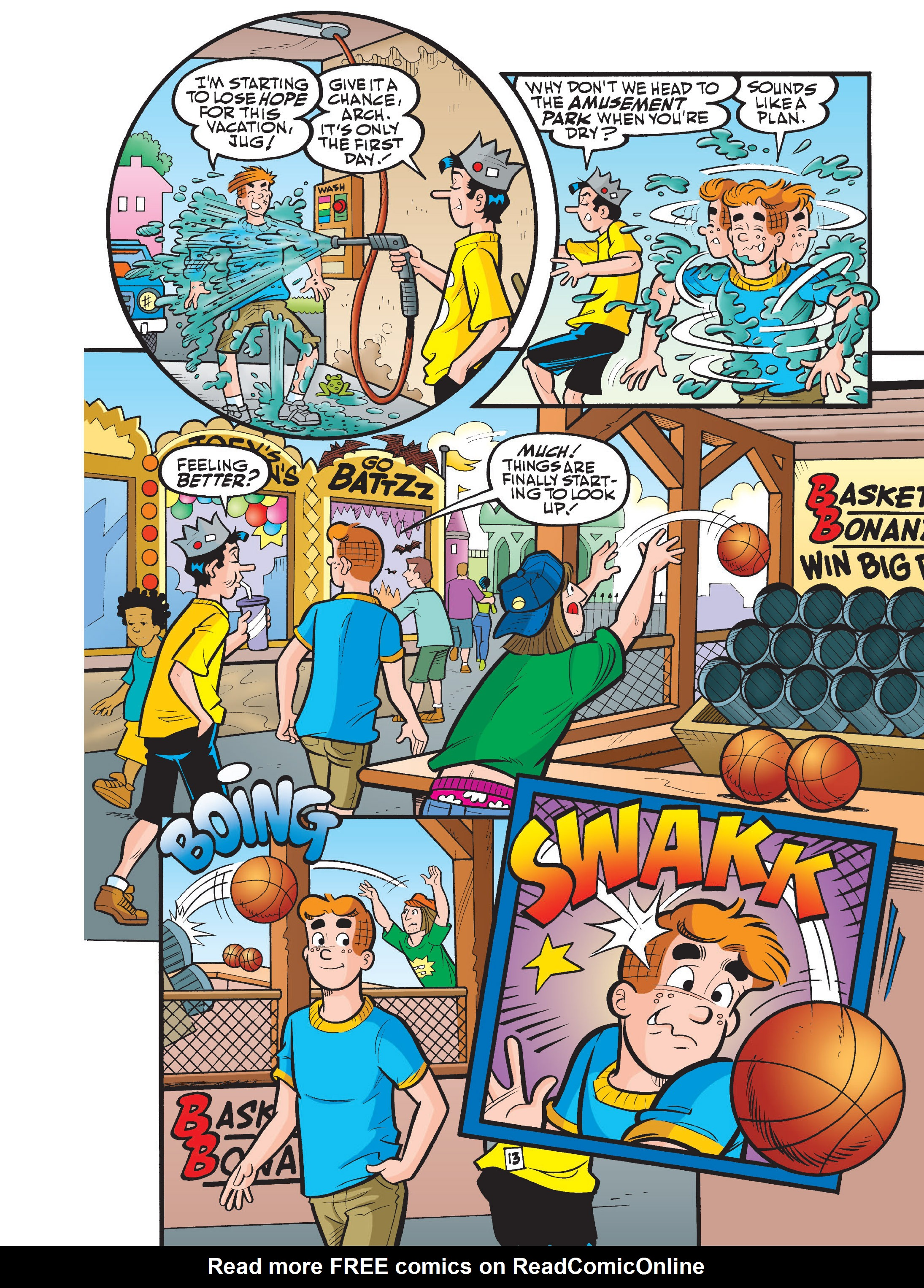 Read online Archie 75th Anniversary Digest comic -  Issue #1 - 181