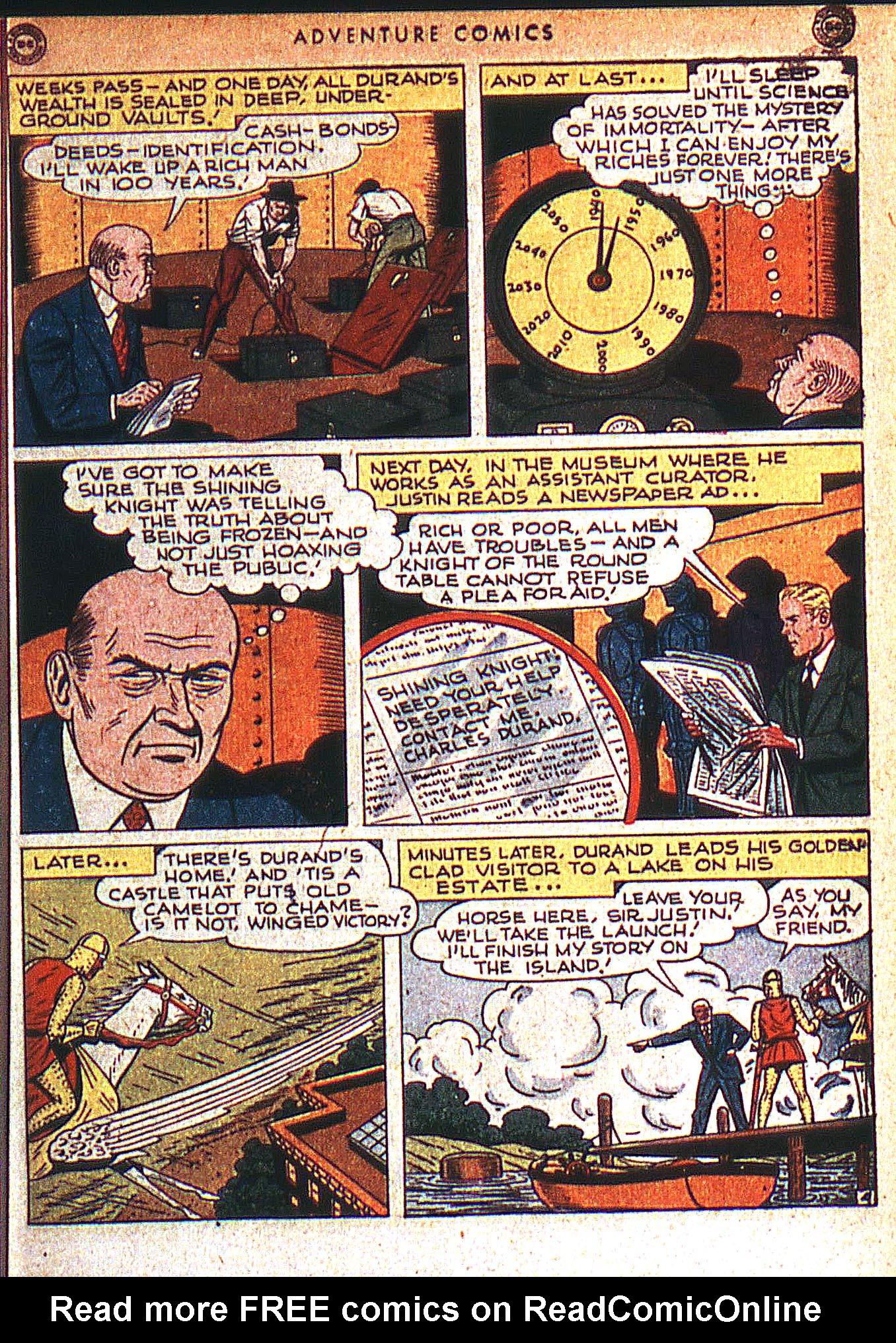 Read online Adventure Comics (1938) comic -  Issue #125 - 36
