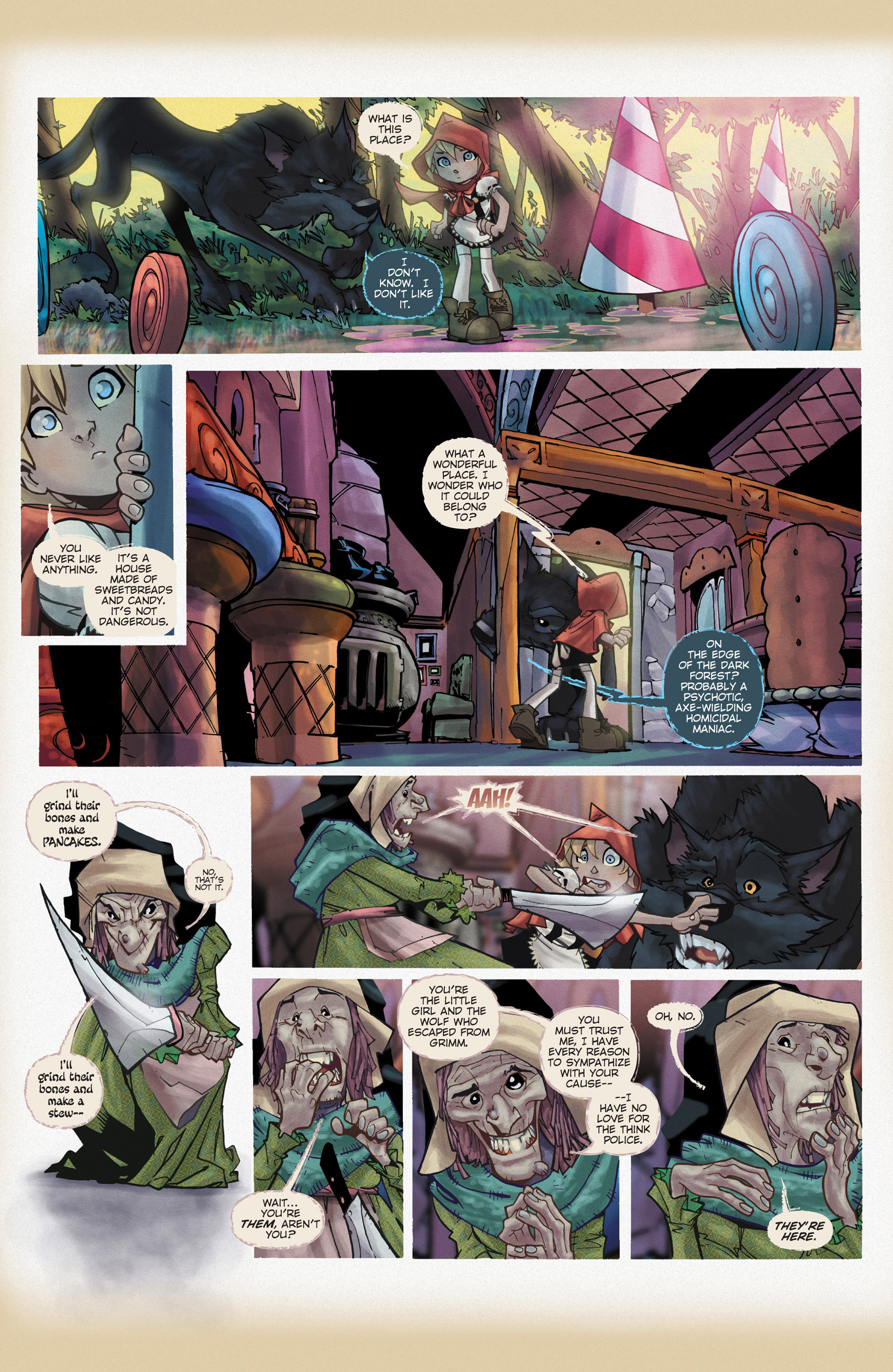 Read online Fairy Quest: Outlaws comic -  Issue #2 - 23