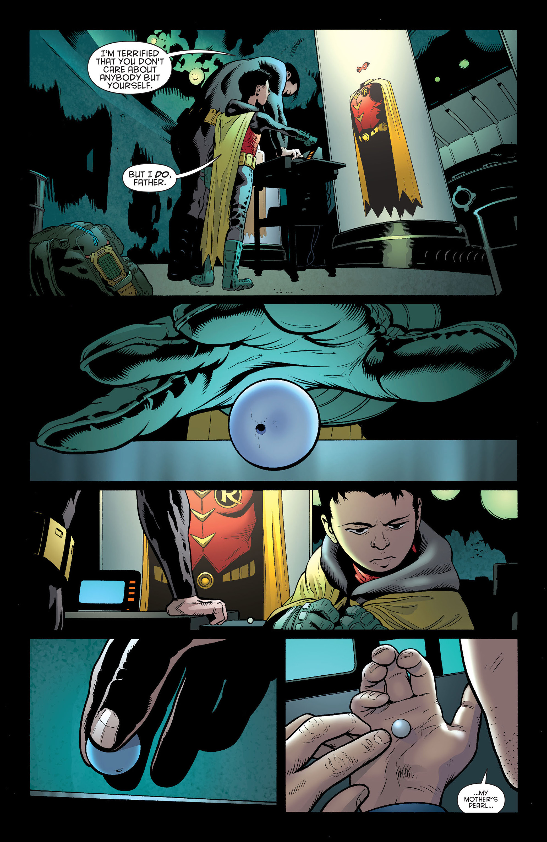 Read online Batman and Robin (2011) comic -  Issue #14 - 19
