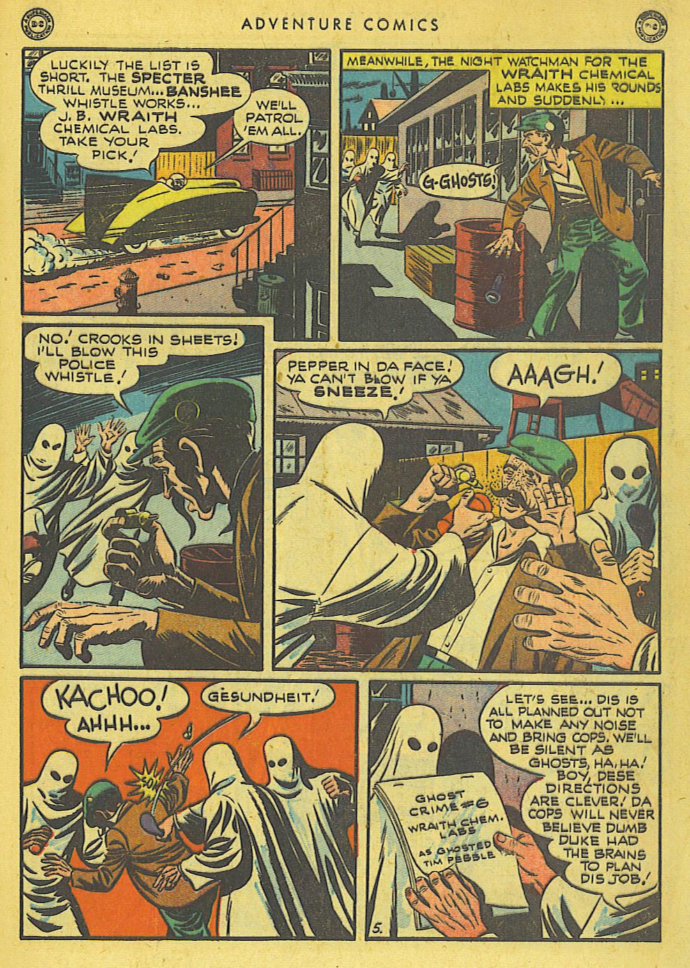 Read online Adventure Comics (1938) comic -  Issue #136 - 43