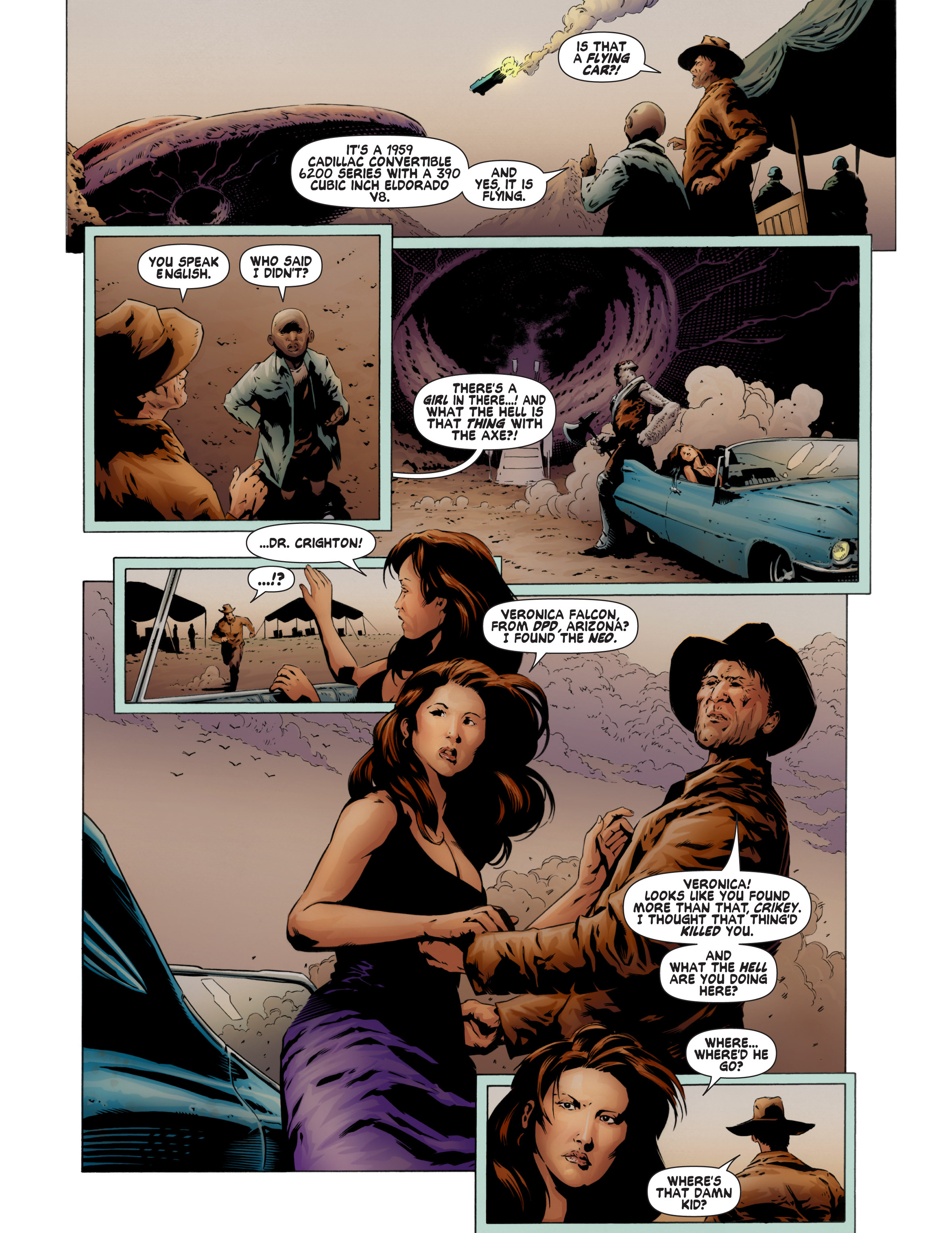 Read online Bad Planet comic -  Issue # TPB - 62