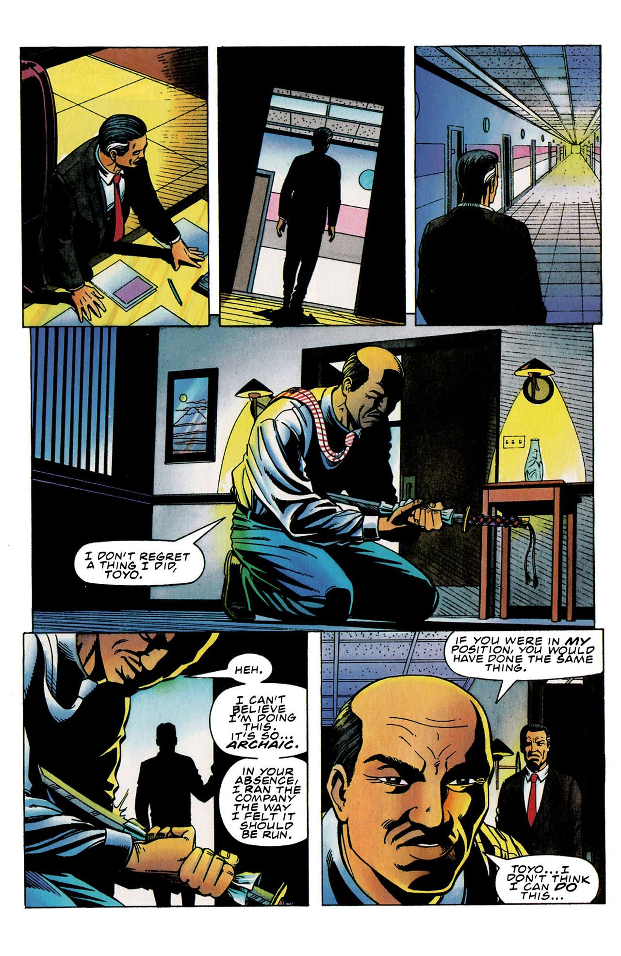 Read online Harbinger (1992) comic -  Issue #31 - 19