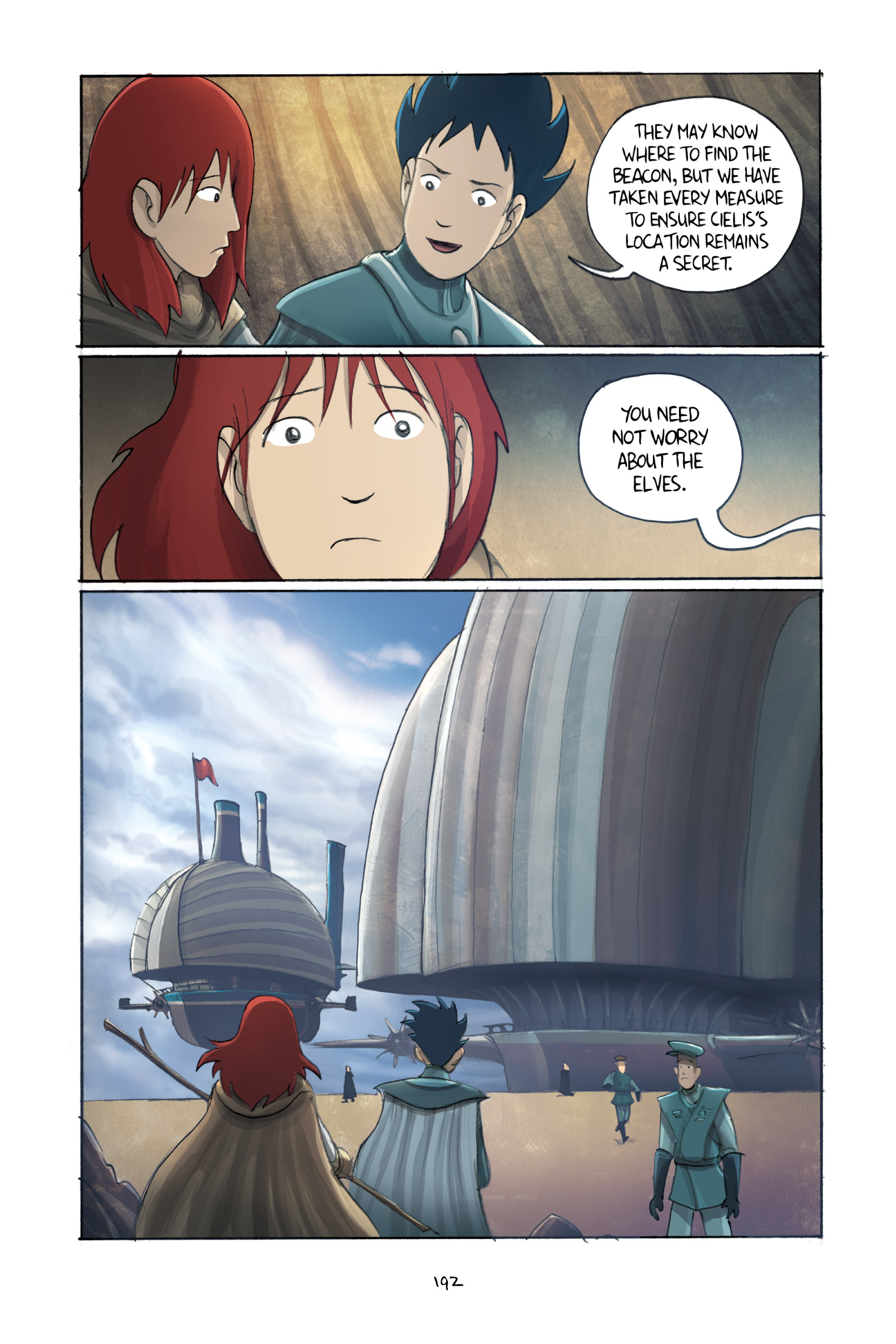 Read online Amulet comic -  Issue #3 - 188