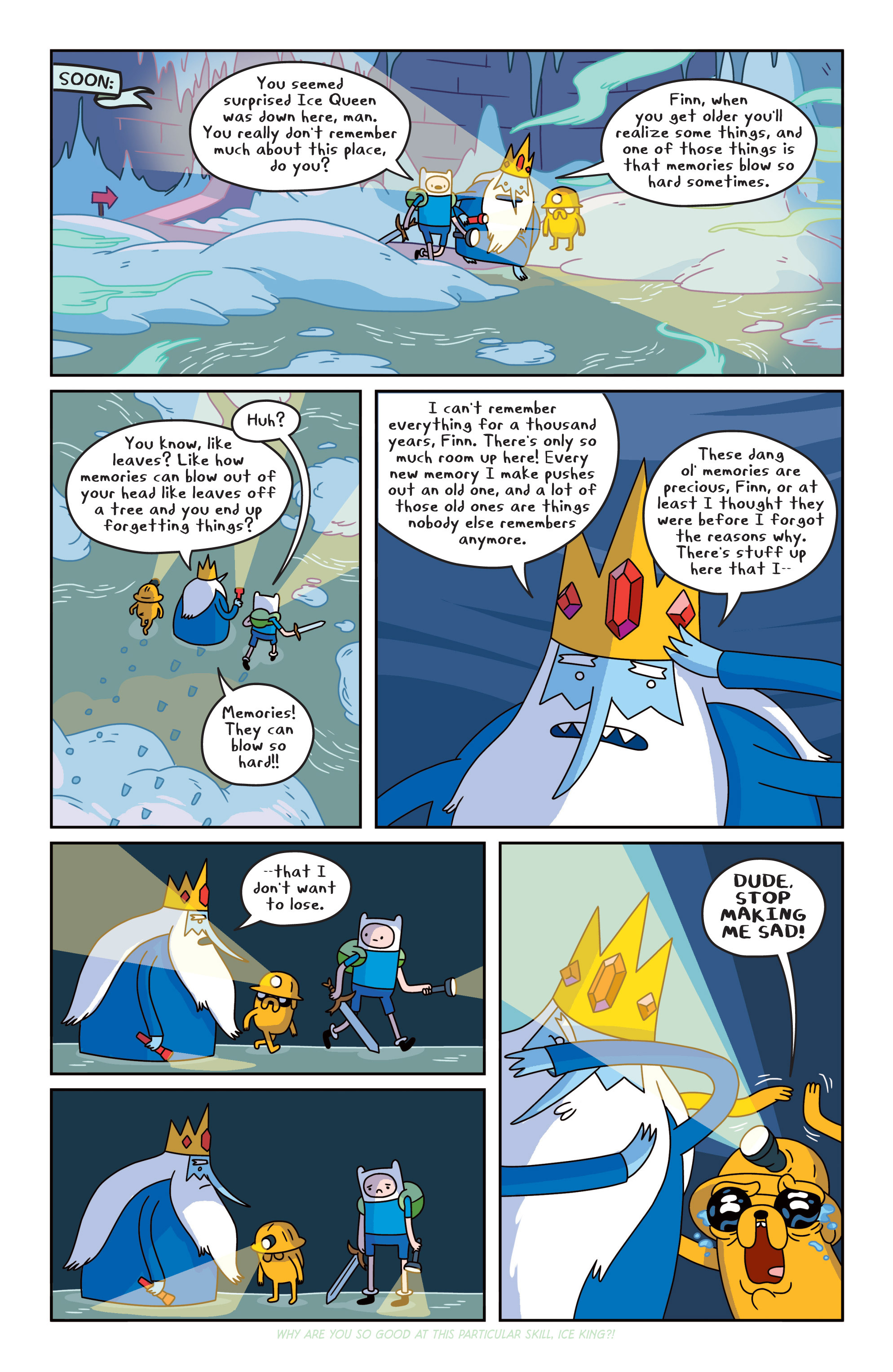 Read online Adventure Time comic -  Issue #16 - 20
