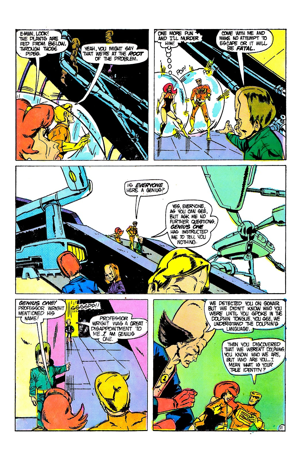 E-Man (1973) issue 9 - Page 15