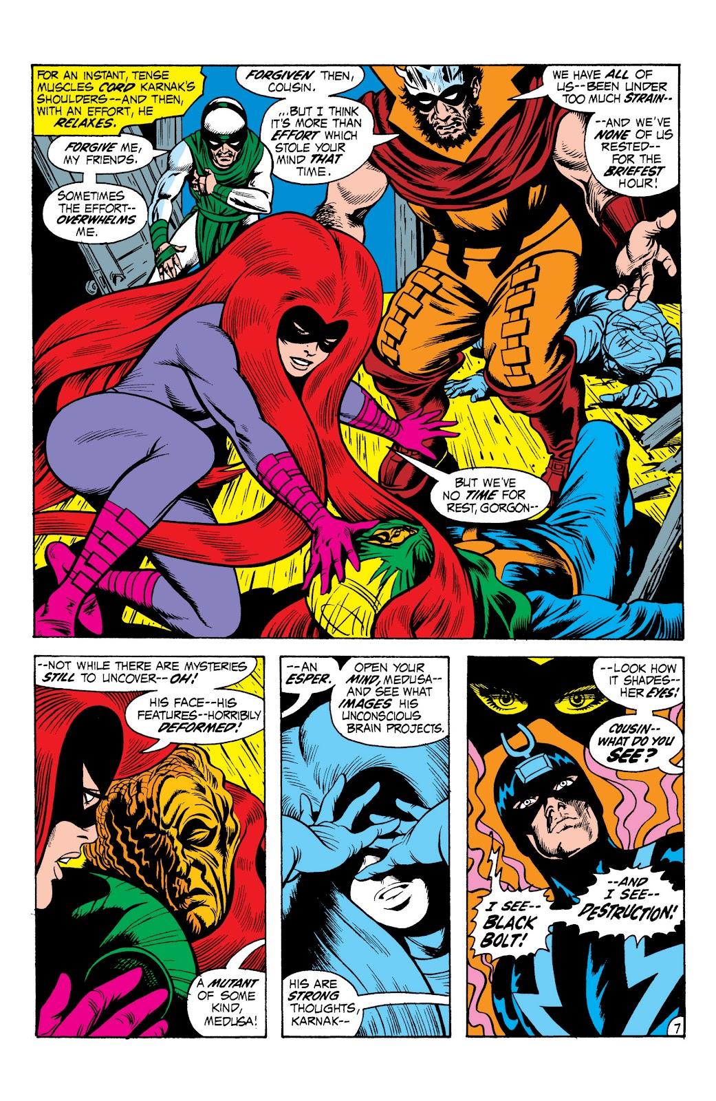 Read online Marvel Masterworks: The Inhumans comic -  Issue # TPB 1 (Part 2) - 64