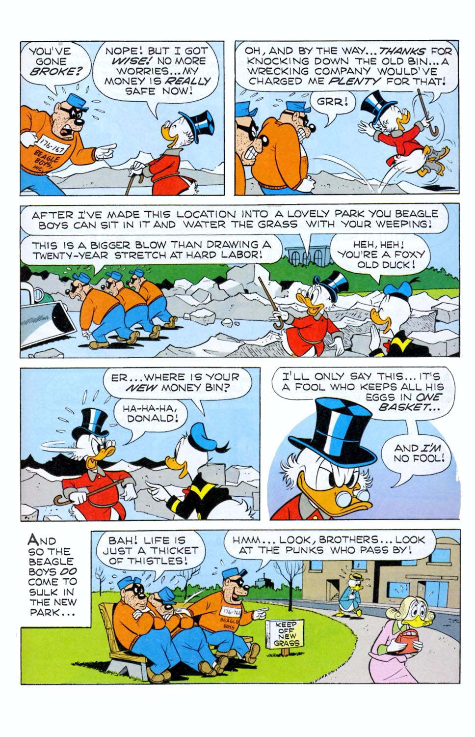 Read online Uncle Scrooge (1953) comic -  Issue #290 - 17
