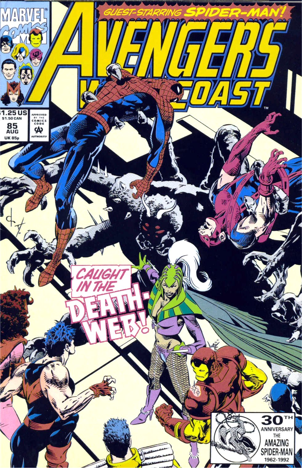 Avengers West Coast (1989) 85 Page 1