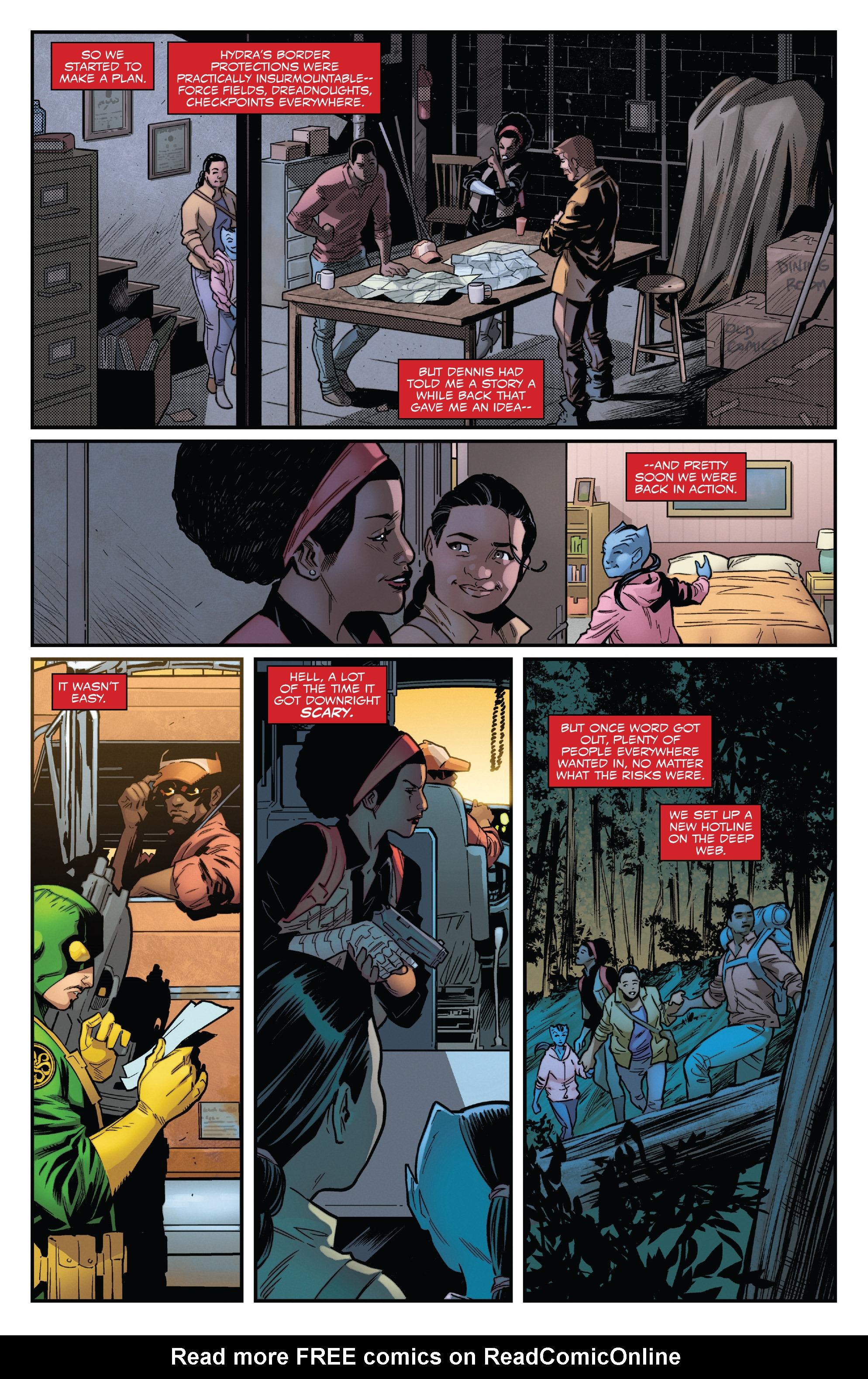 Read online Captain America: Sam Wilson comic -  Issue #22 - 17