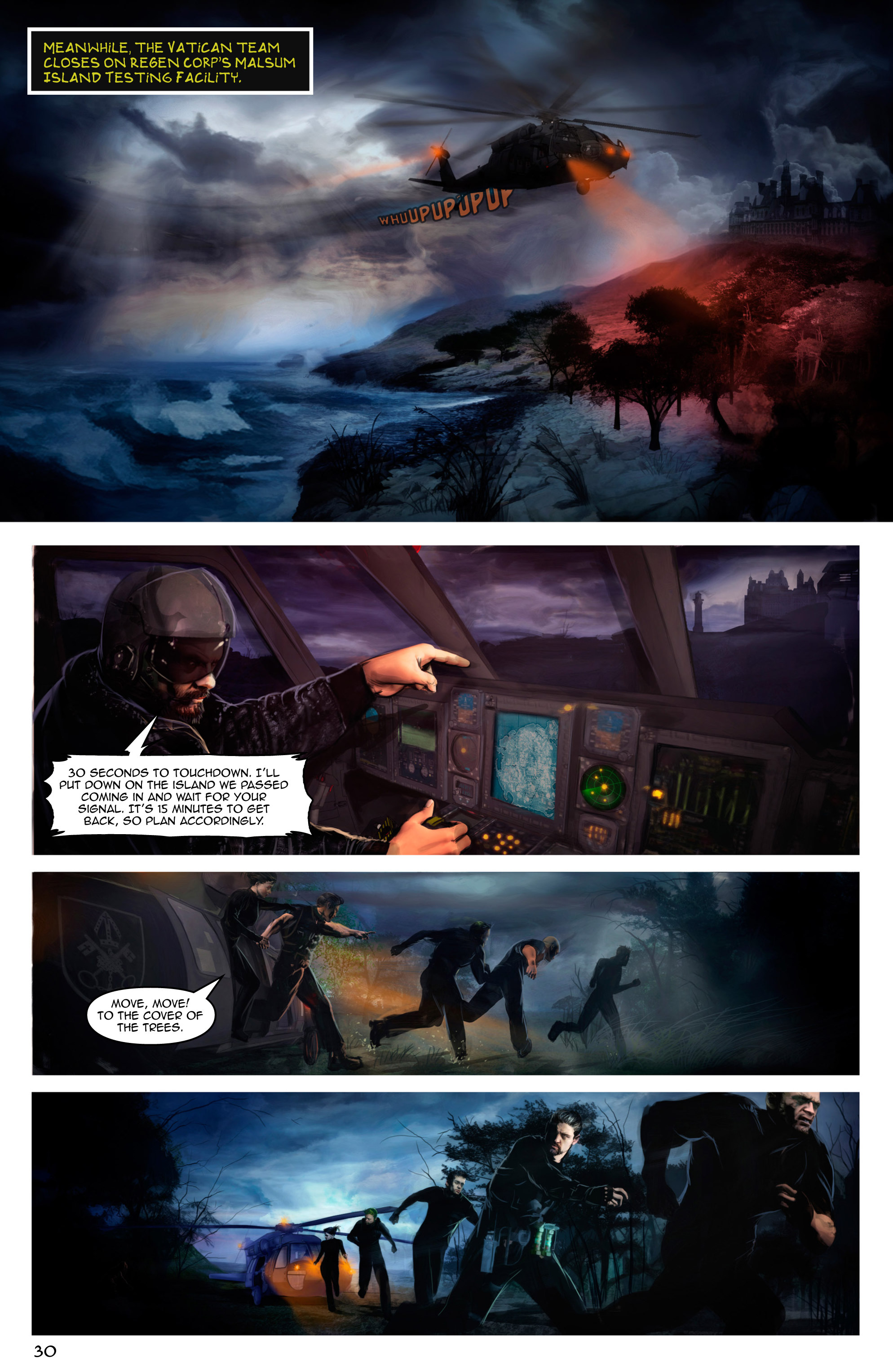 Read online Escape from Jesus Island comic -  Issue #2 - 30