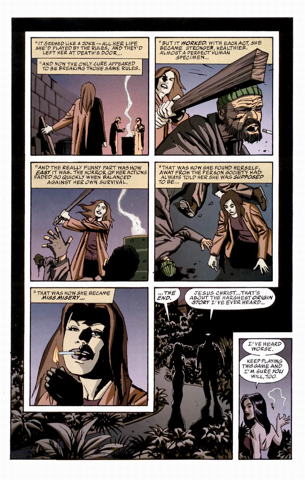 Read online Sleeper comic -  Issue #3 - 24