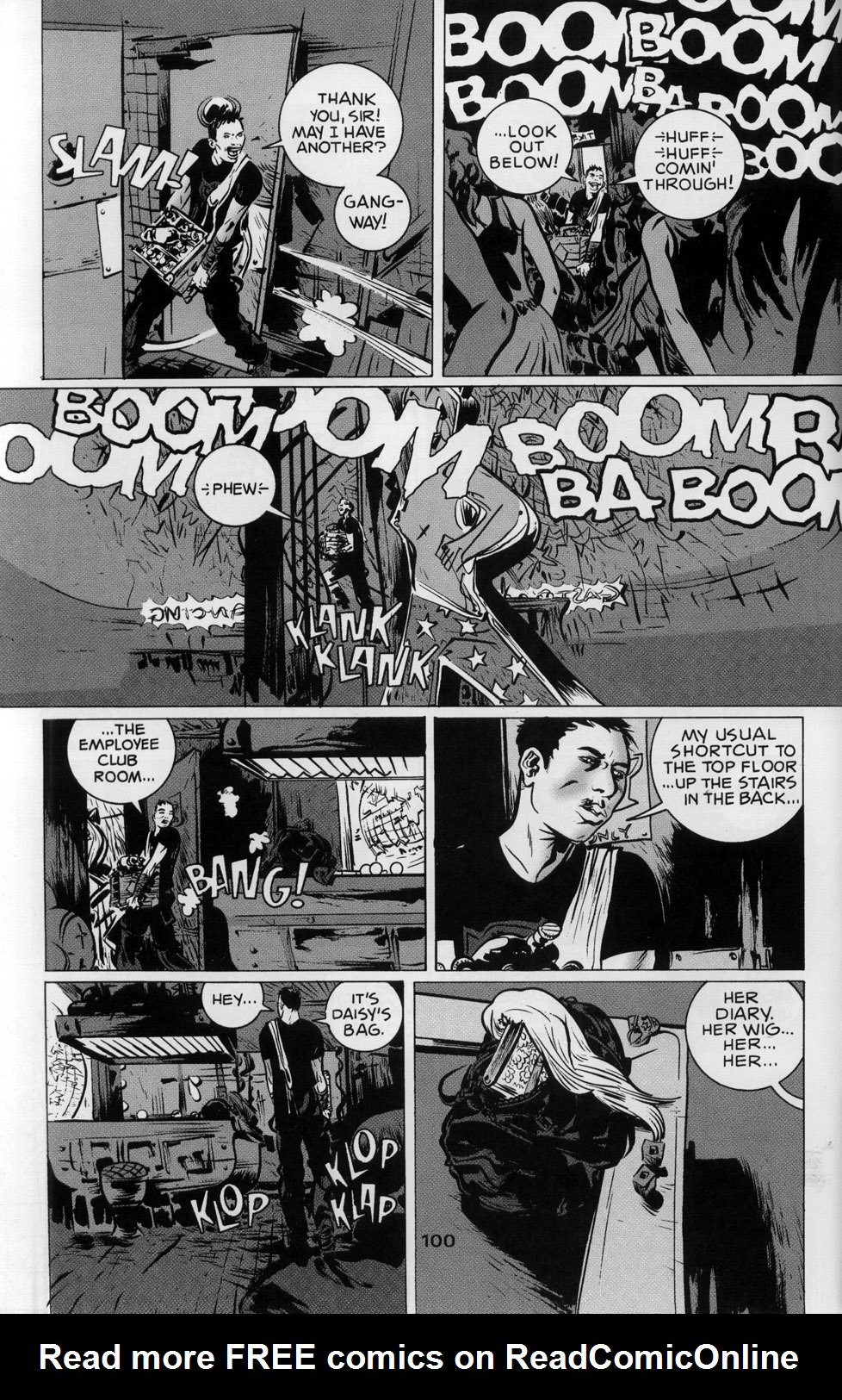 Read online 100% comic -  Issue #3 - 6