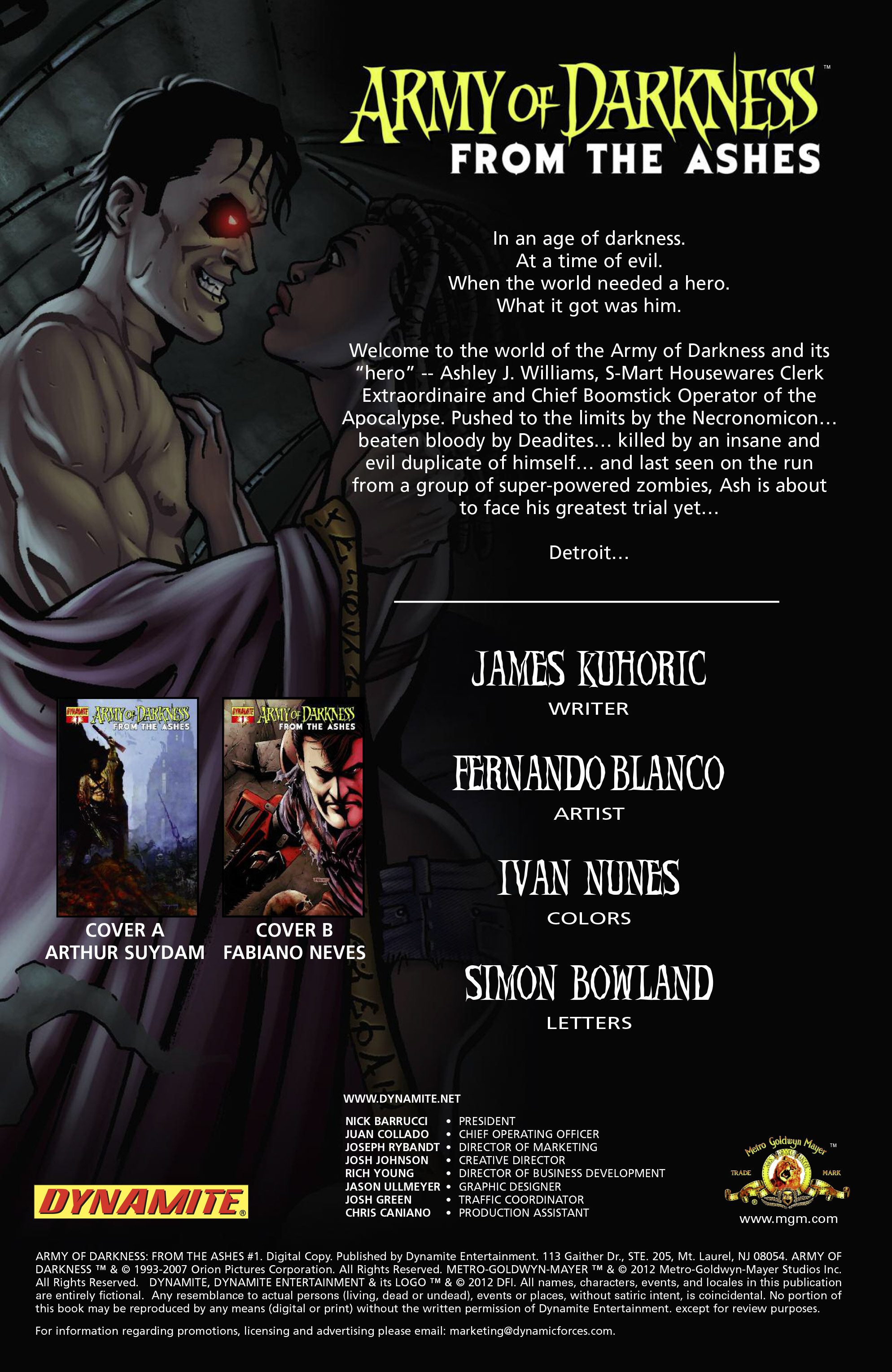 Read online Army of Darkness: From the Ashes comic -  Issue #Army of Darkness: From the Ashes TPB - 7
