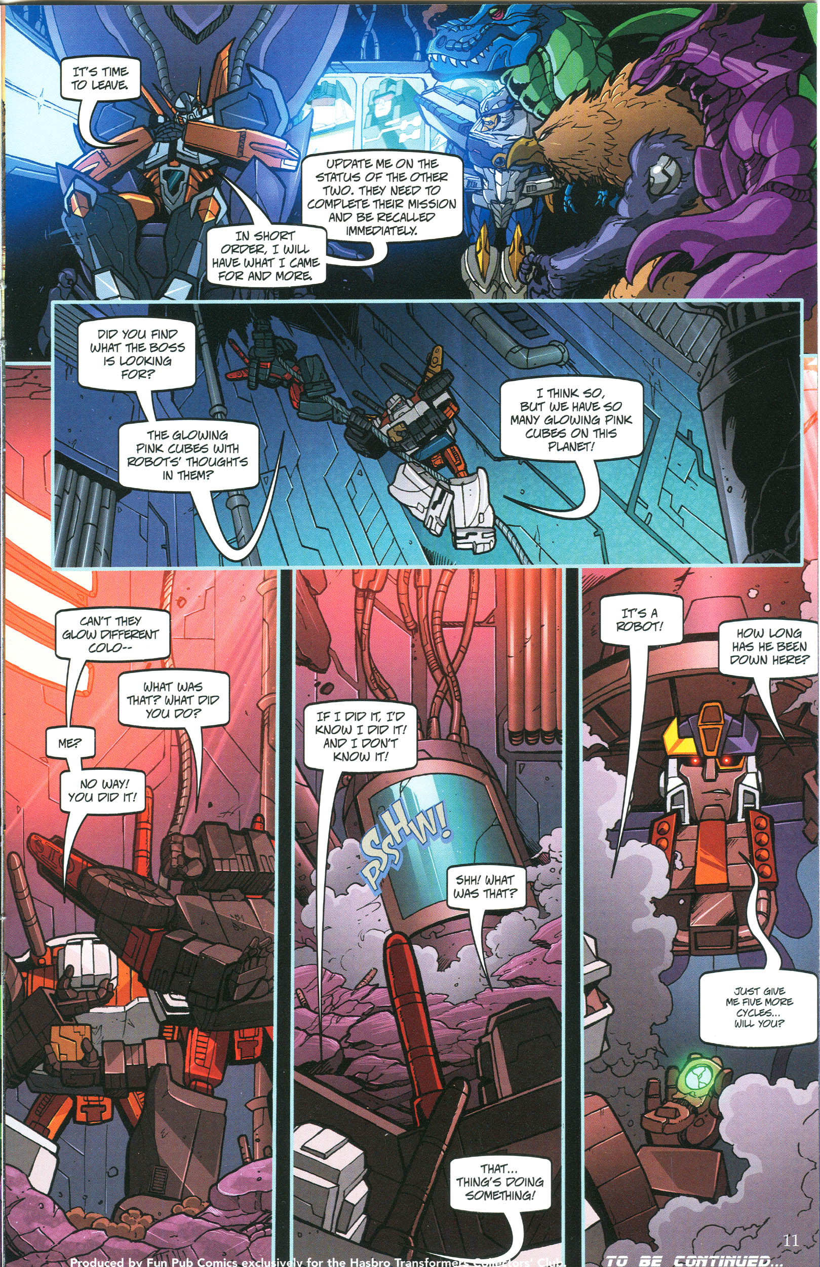 Read online Transformers: Collectors' Club comic -  Issue #44 - 11