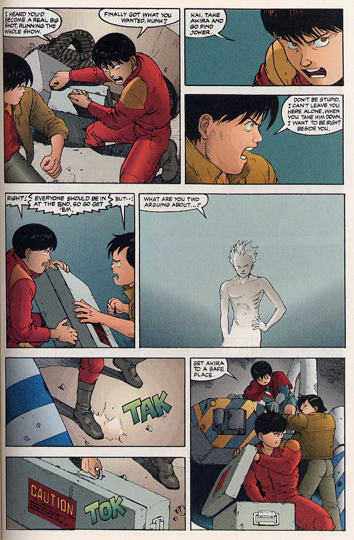 Read online Akira comic -  Issue #32 - 32