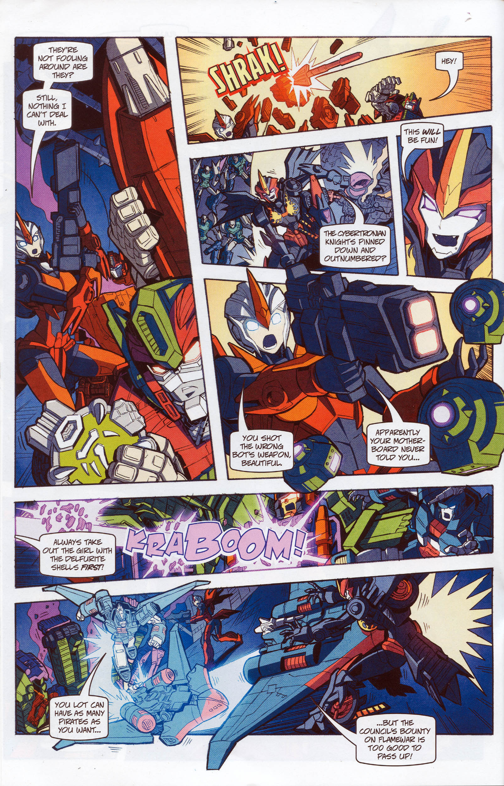 Read online Transformers: Timelines comic -  Issue #10 - 18