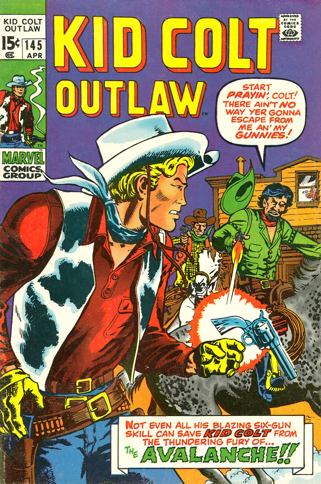 Kid Colt Outlaw issue 145 - Page 1