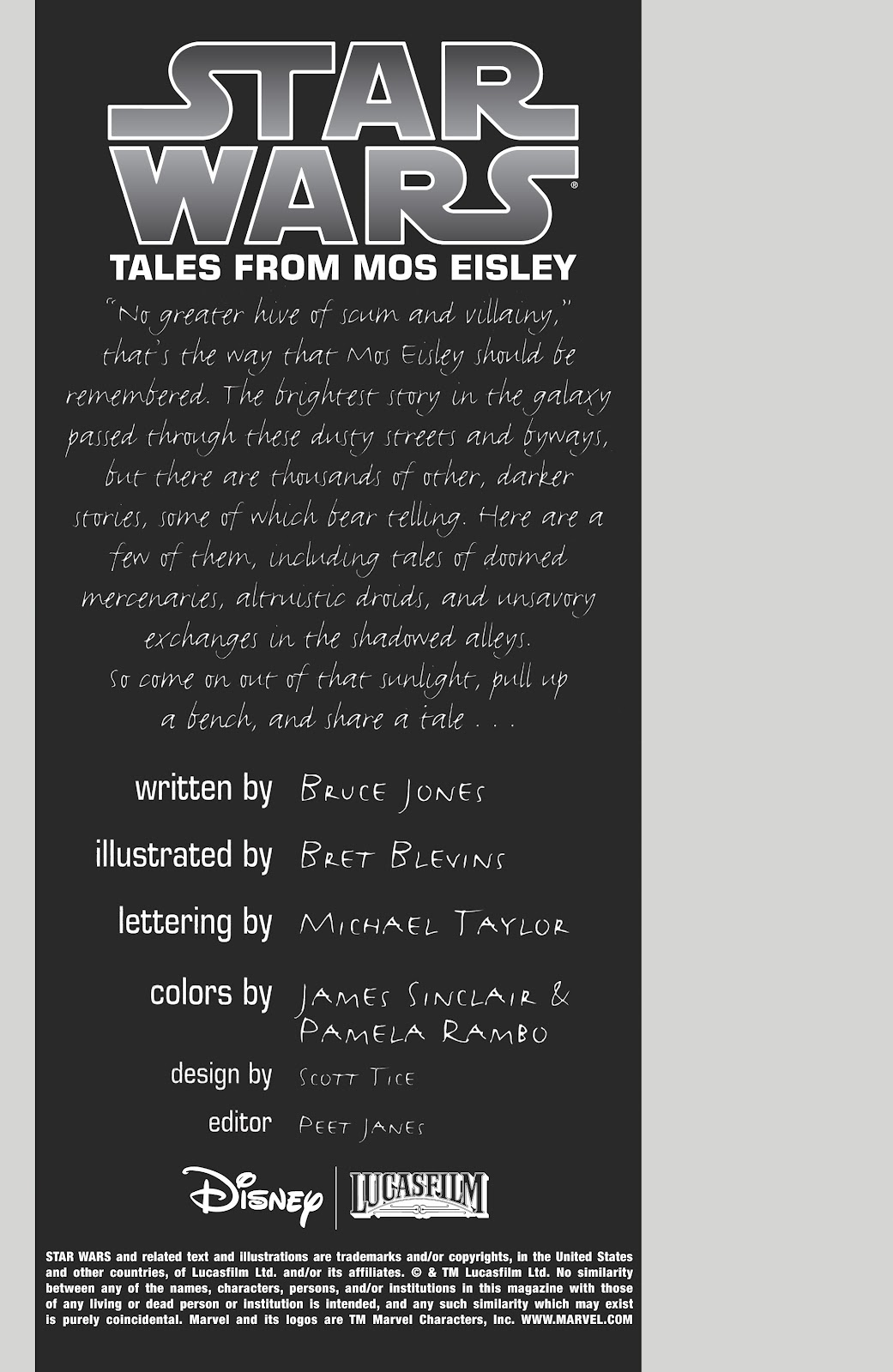 Read online Star Wars: Tales from Mos Eisley comic -  Issue # Full - 2