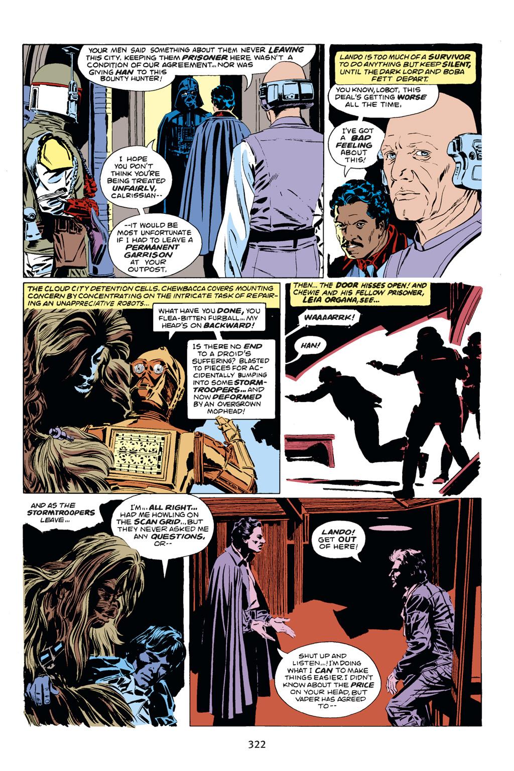 Read online Star Wars Omnibus comic -  Issue # Vol. 14 - 320