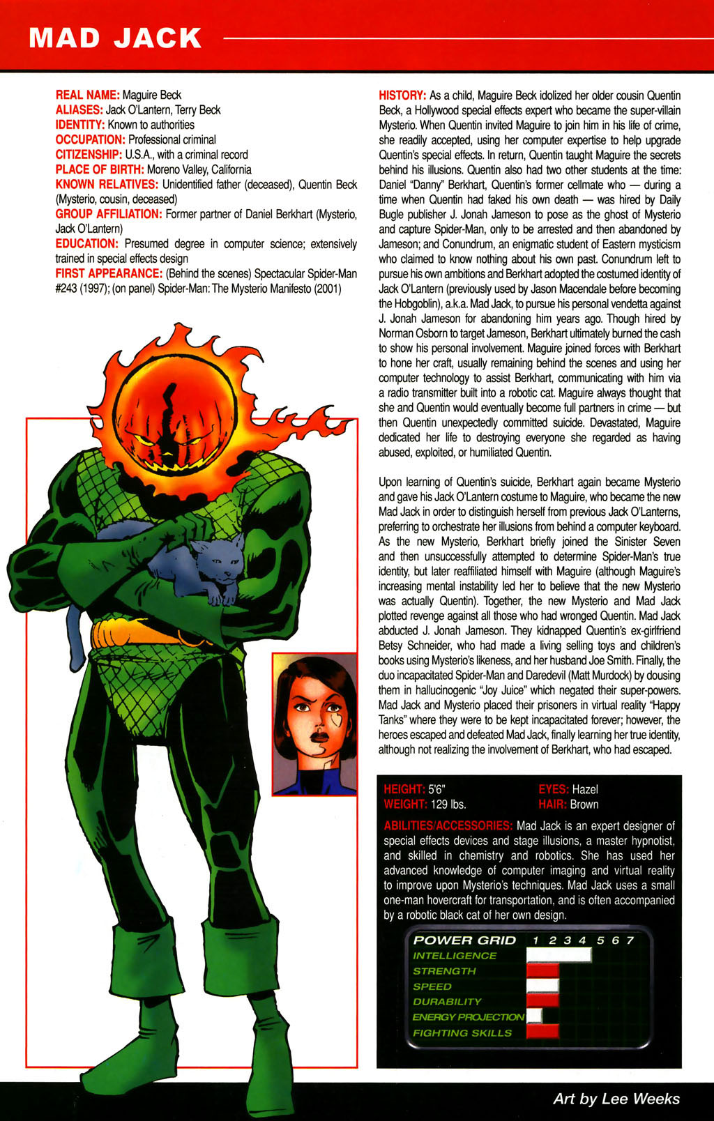 Read online All-New Official Handbook of the Marvel Universe A to Z comic -  Issue #6 - 50