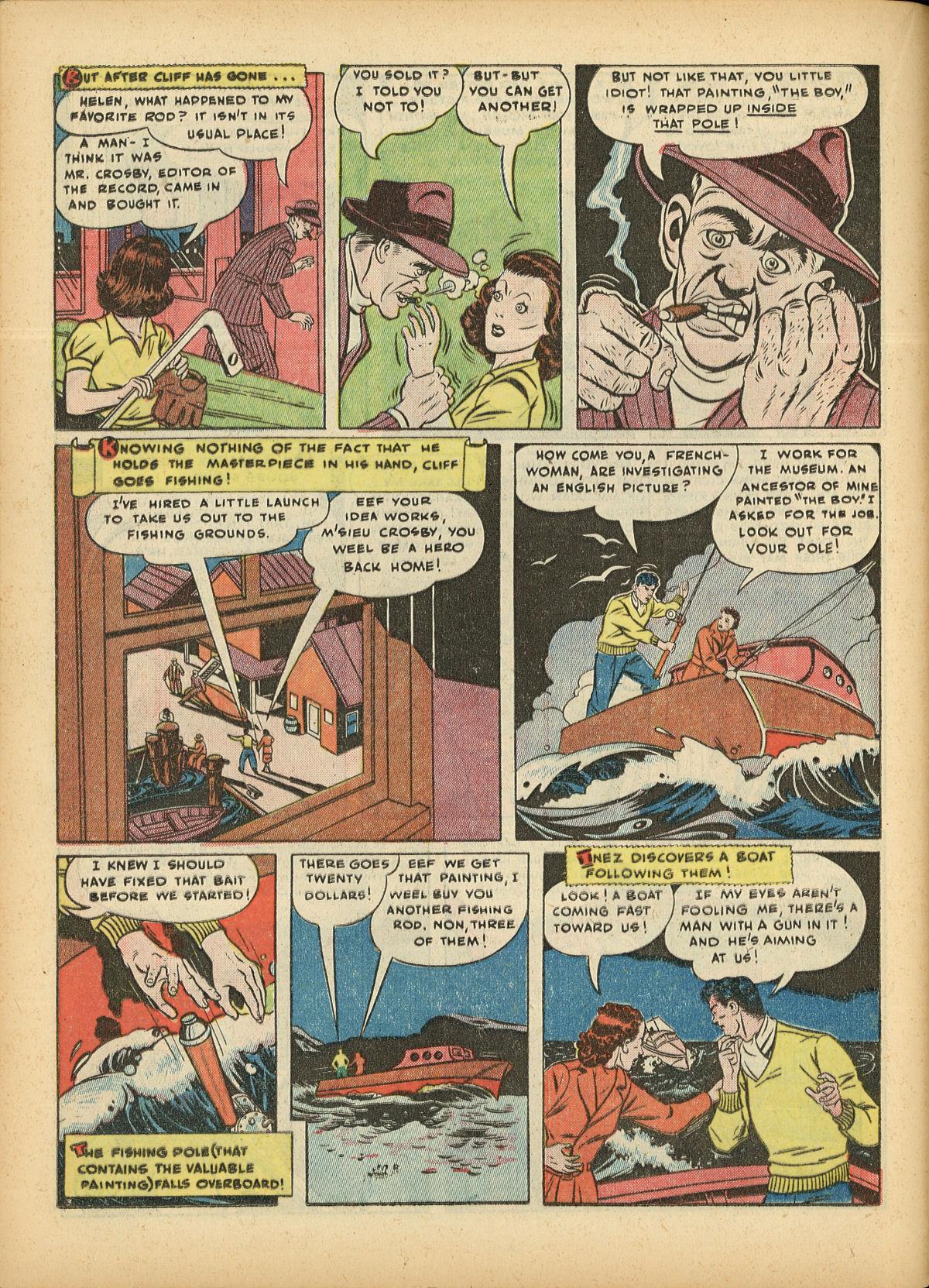 Read online Detective Comics (1937) comic -  Issue #55 - 46