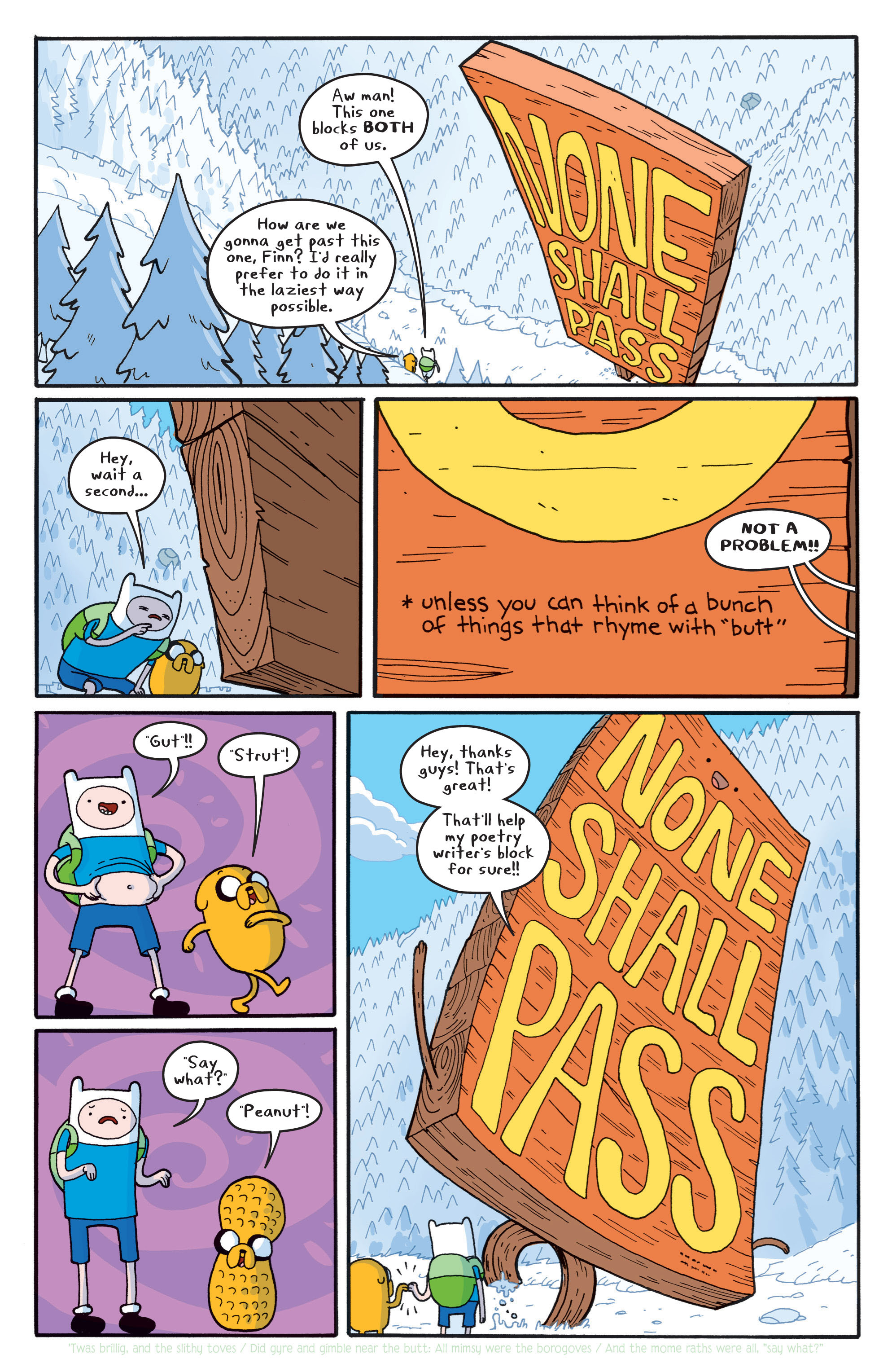 Read online Adventure Time comic -  Issue #5 - 14
