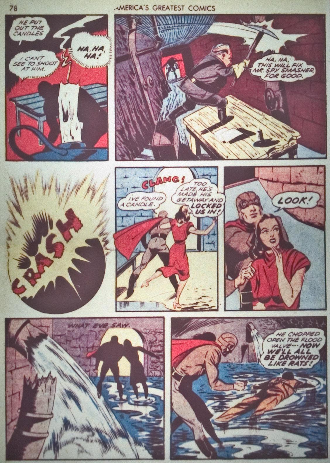 Read online America's Greatest Comics comic -  Issue #1 - 81