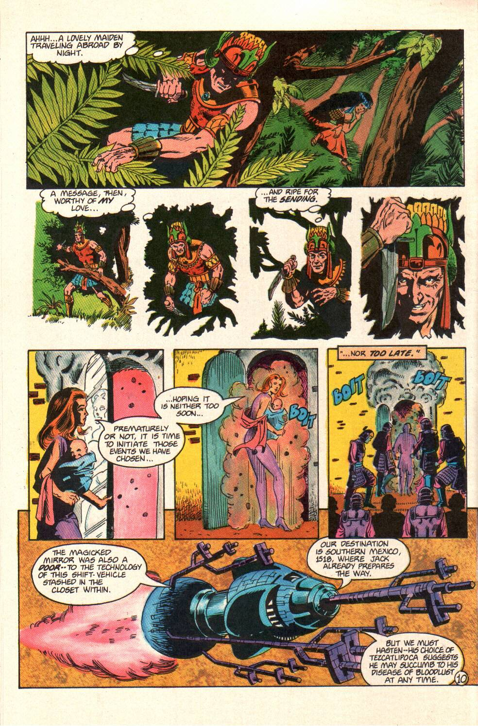 Read online Aztec Ace comic -  Issue #10 - 9