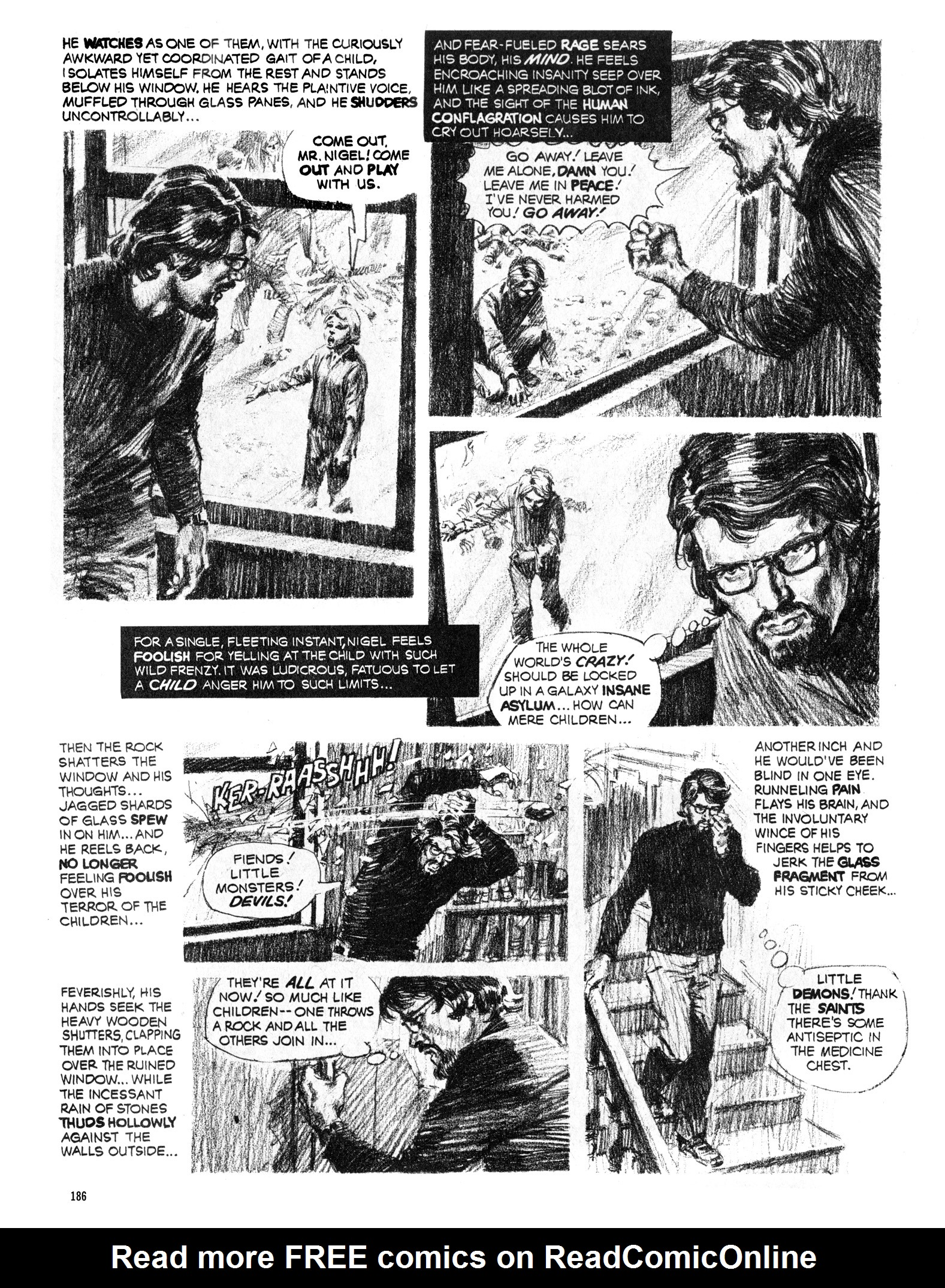 Read online Eerie Archives comic -  Issue # TPB 16 - 187