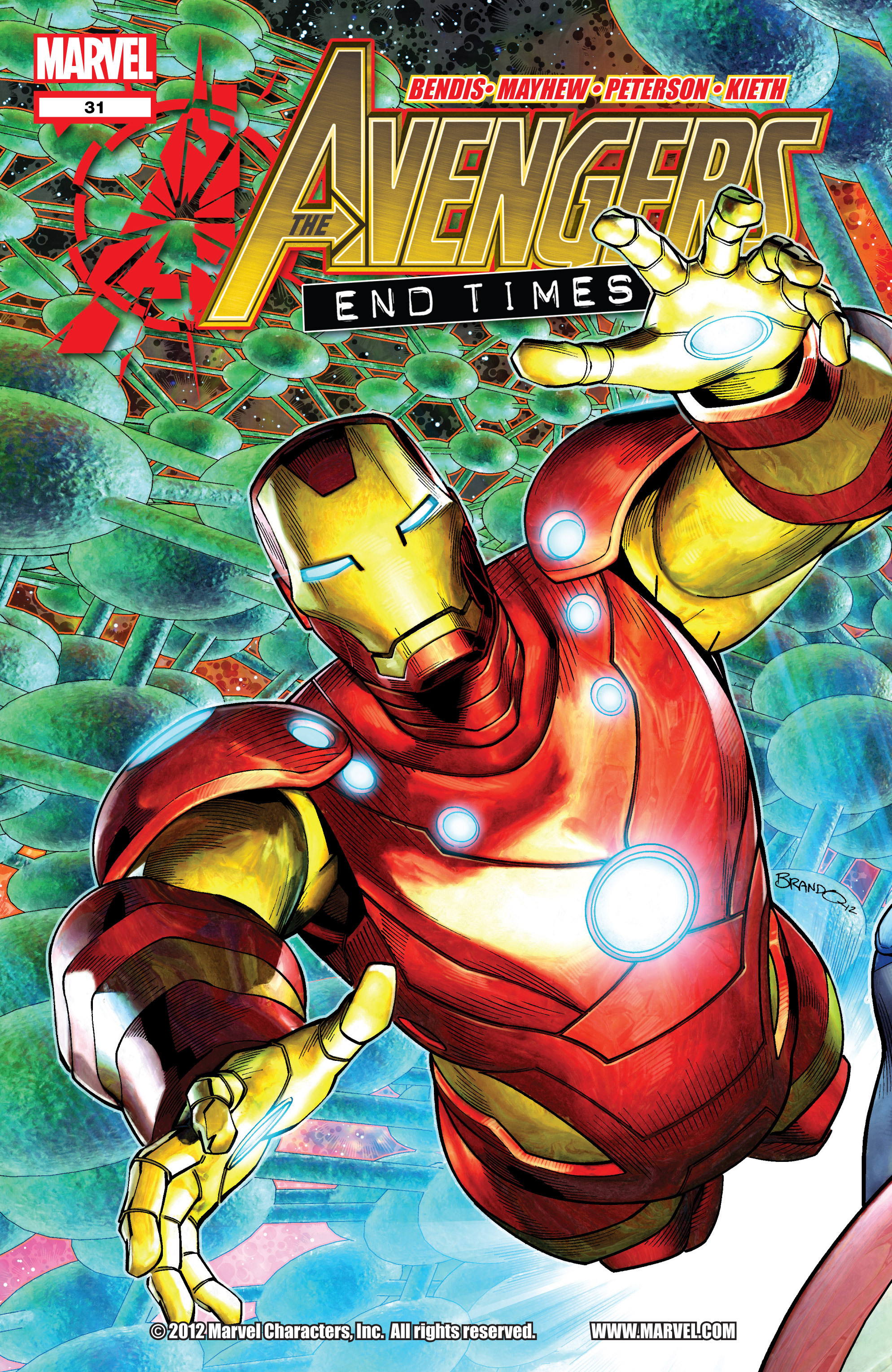 Read online Avengers (2010) comic -  Issue #31 - 1