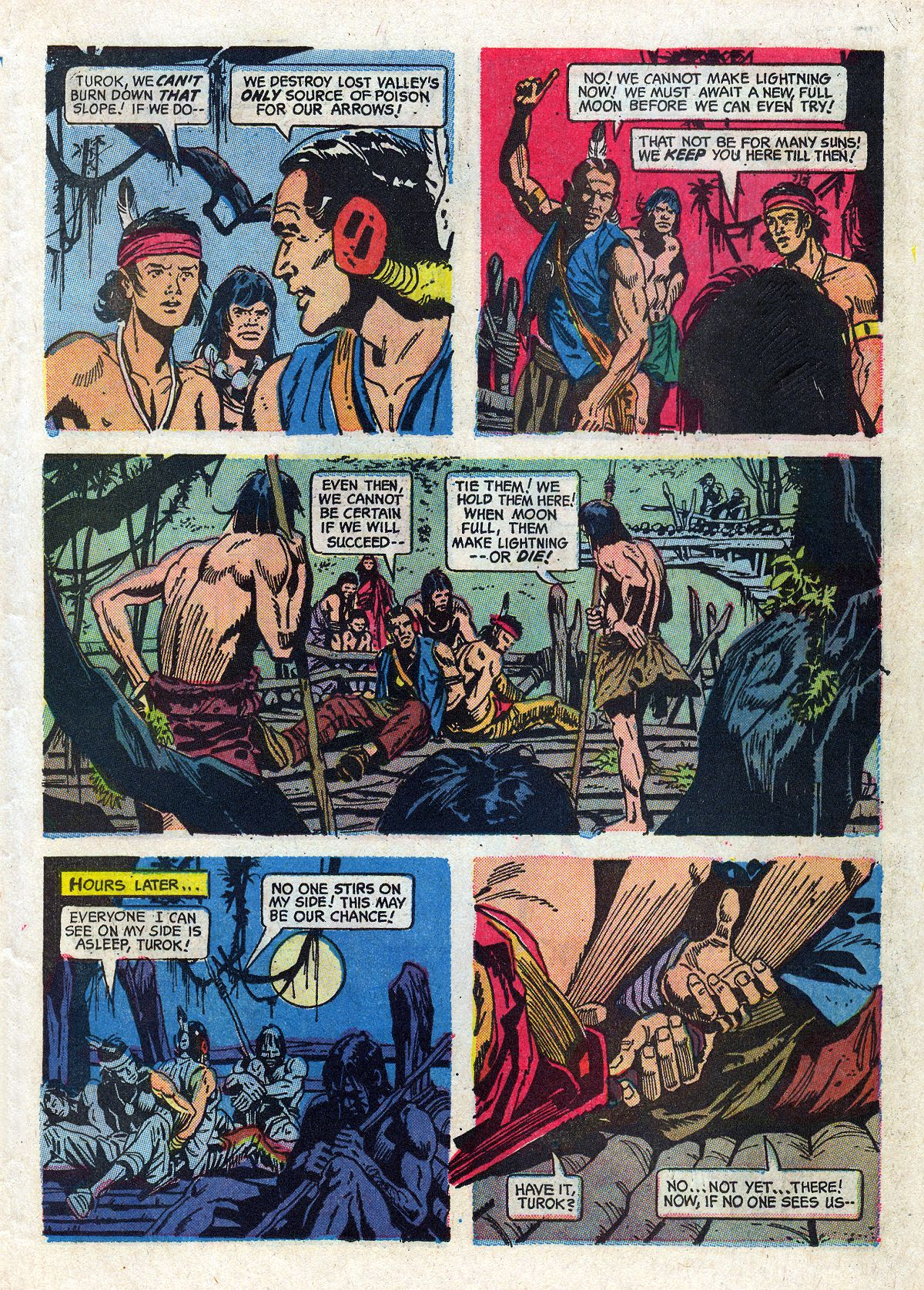 Read online Turok, Son of Stone comic -  Issue #61 - 23