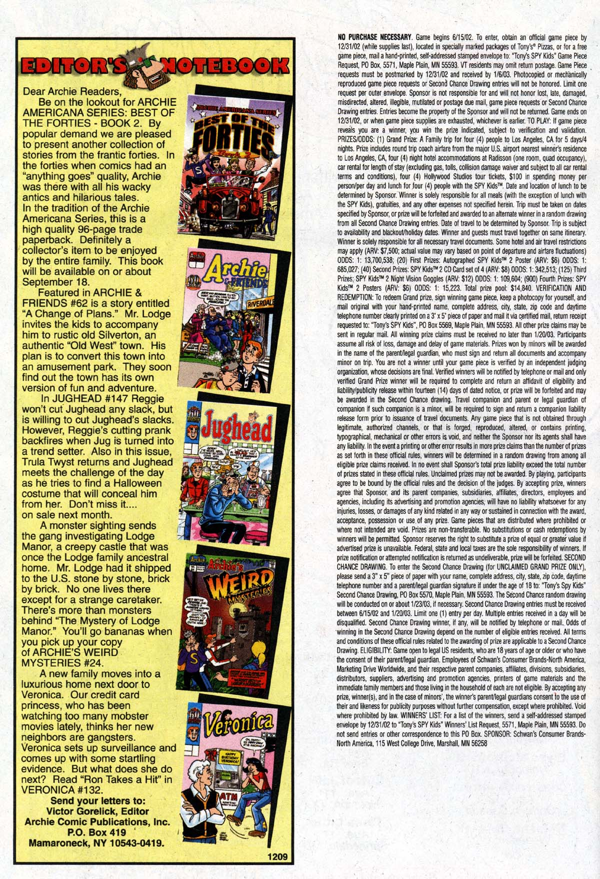 Read online Archie (1960) comic -  Issue #527 - 16