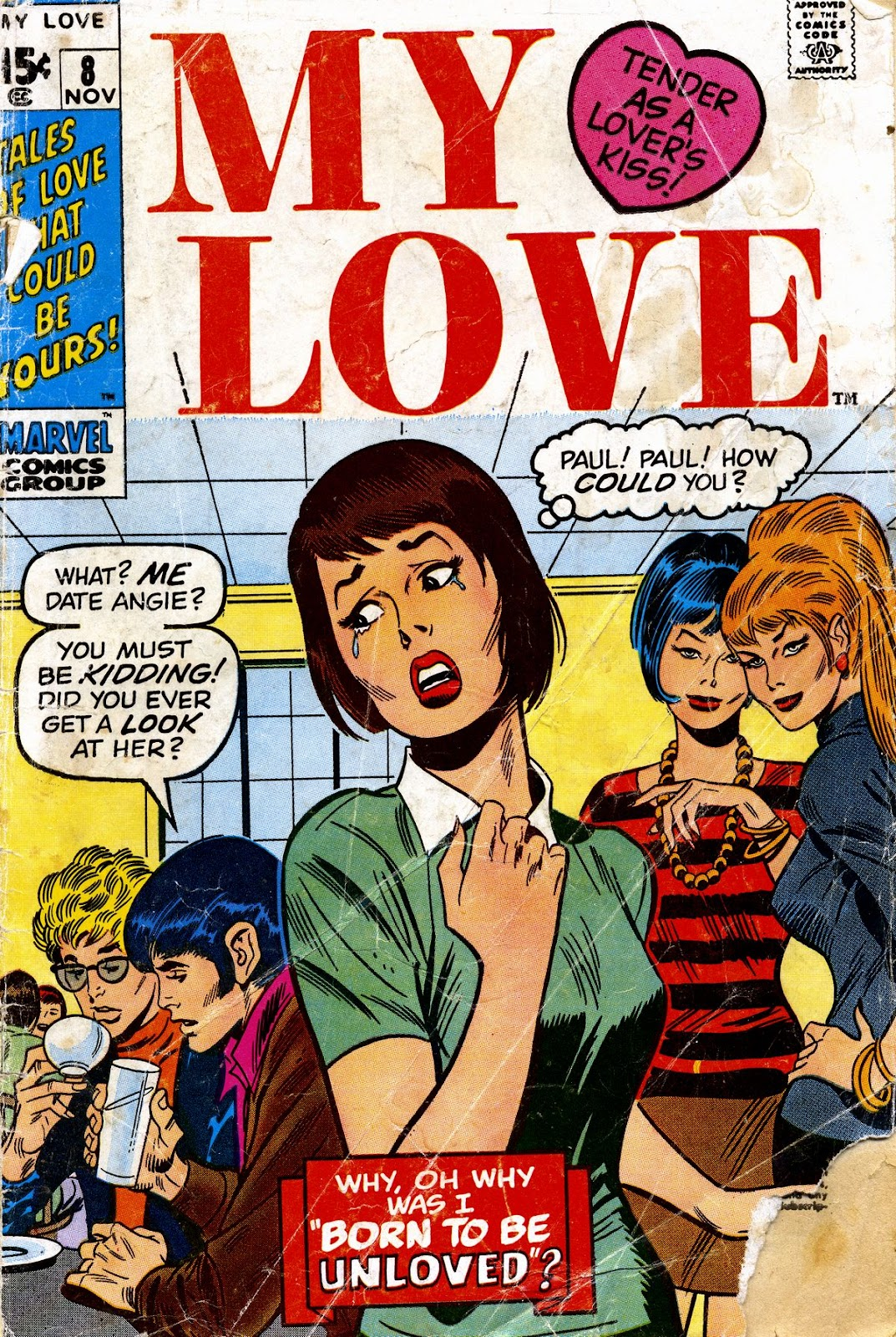 My Love (1969) issue 8 - Page 1