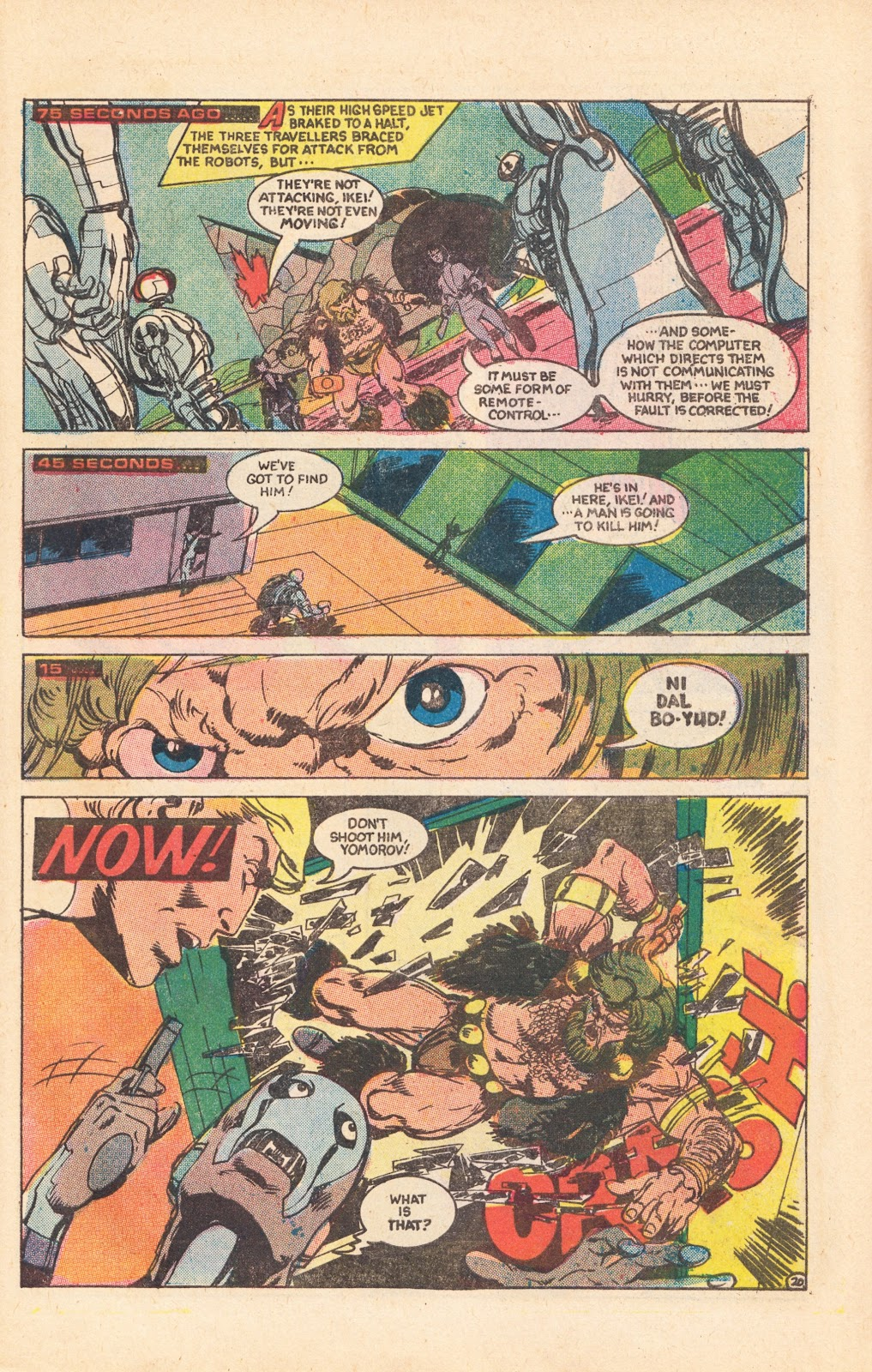 Read online Doomsday   1 (1975) comic -  Issue #8 - 26