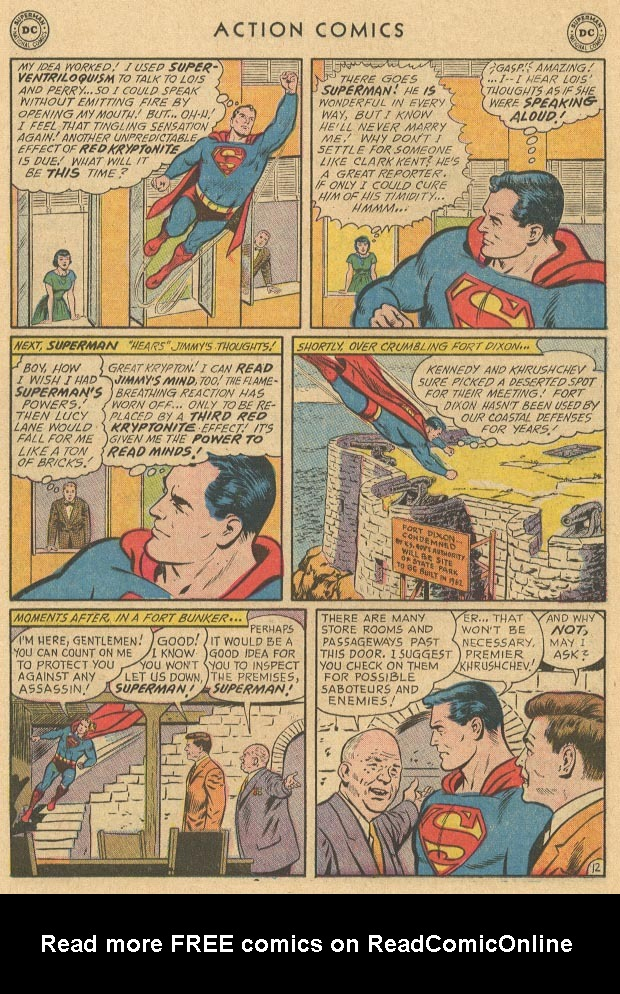 Read online Action Comics (1938) comic -  Issue #283 - 14