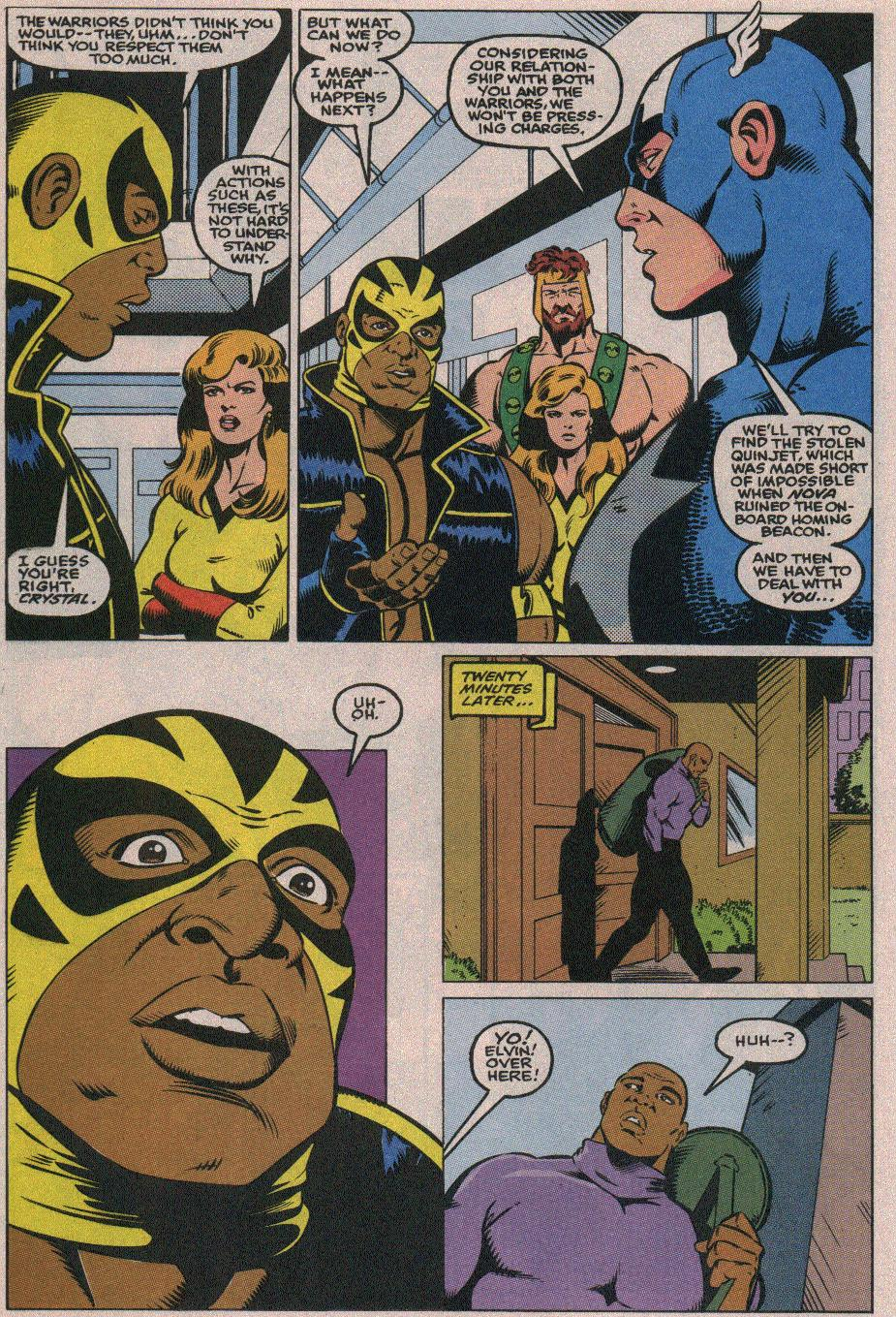 The New Warriors Issue #26 #30 - English 9