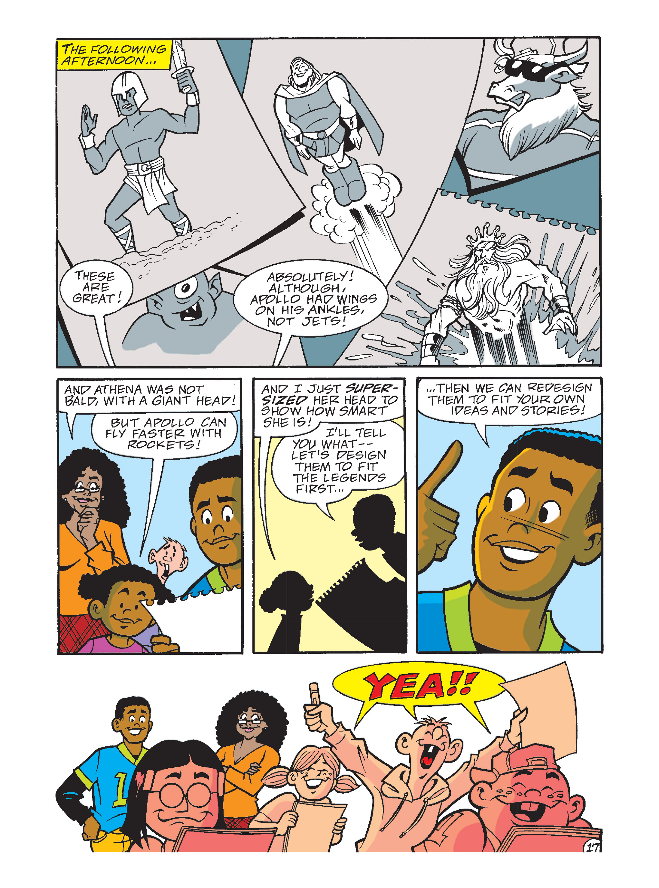 Read online Archie's Funhouse Double Digest comic -  Issue #10 - 52