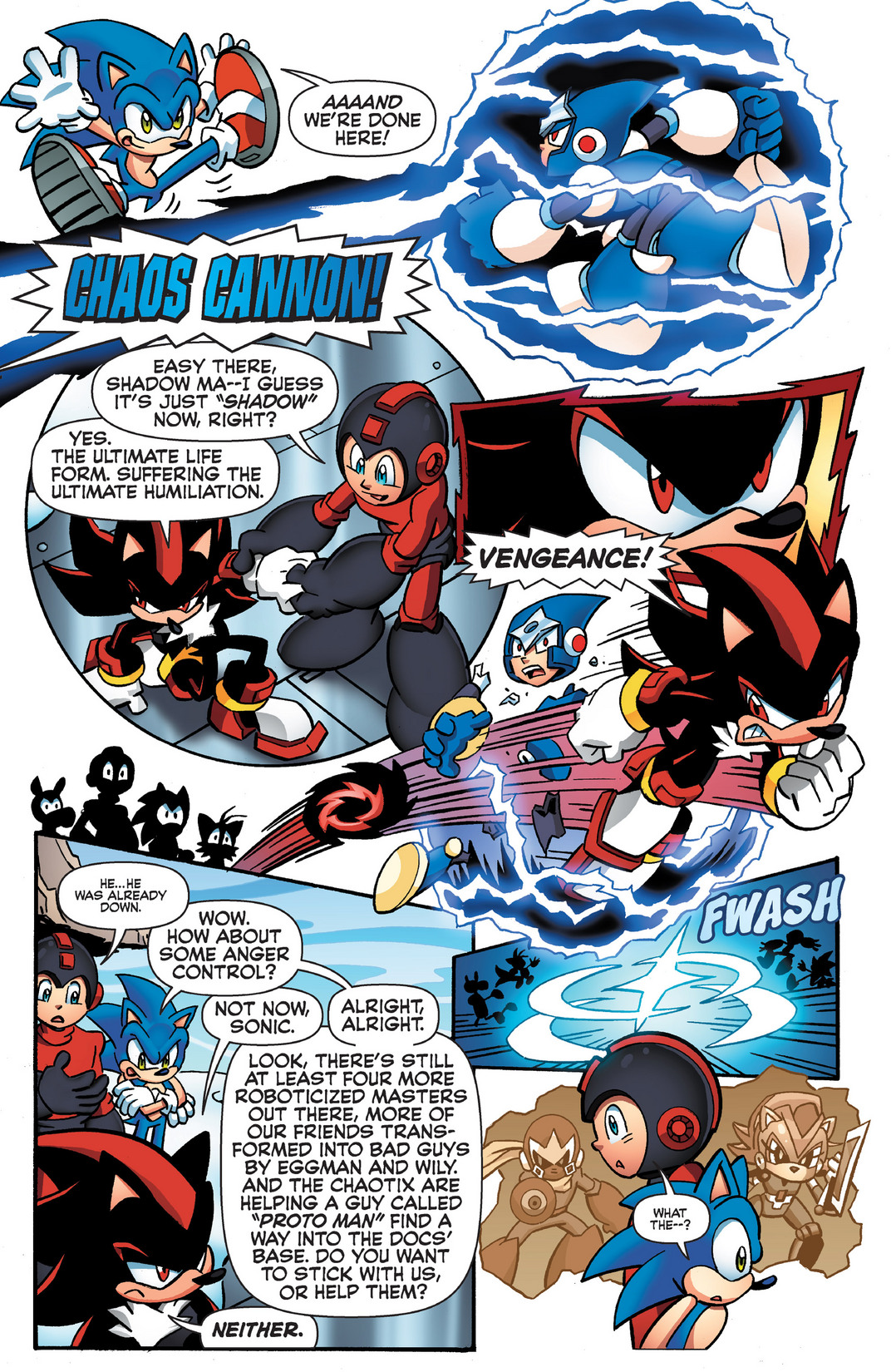 Read online Sonic Mega Man Worlds Collide comic -  Issue # Vol 2 - 67