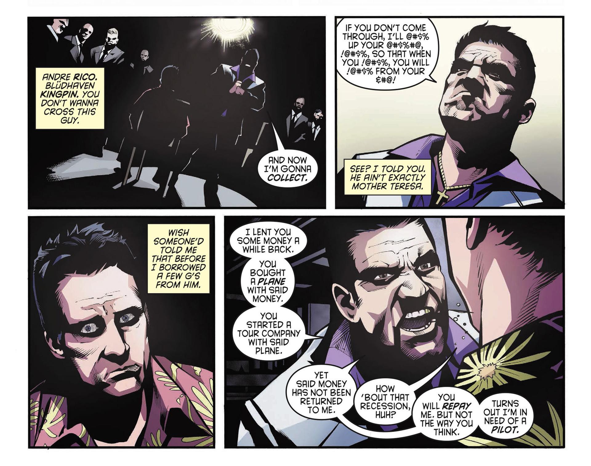 Read online Arrow [II] comic -  Issue #34 - 6