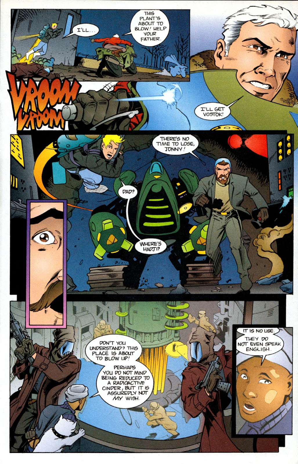 Read online The Real Adventures of Jonny Quest comic -  Issue #6 - 17