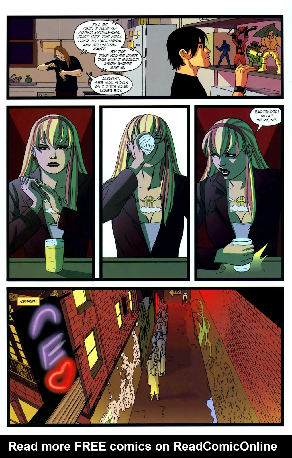 Read online Mercy Sparx (2008) comic -  Issue #2 - 9