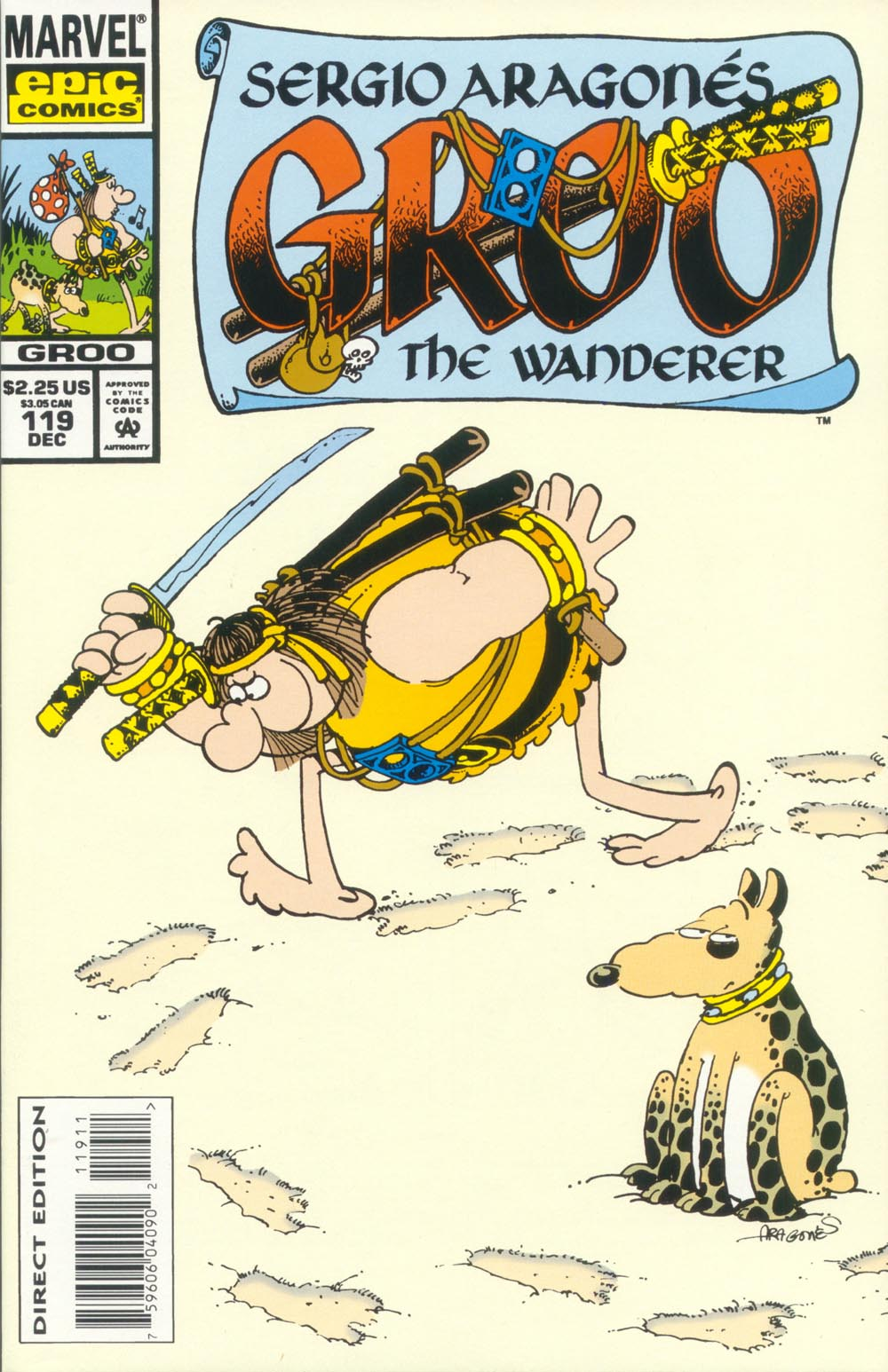 Read online Sergio Aragonés Groo the Wanderer comic -  Issue #119 - 1