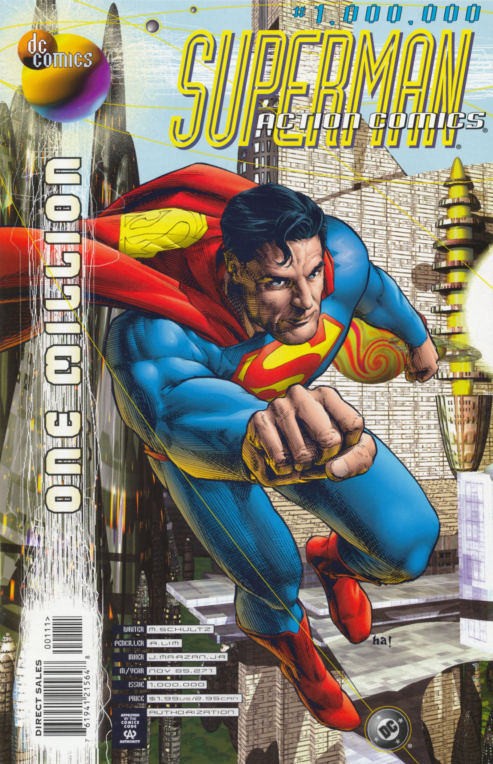 Read online Action Comics (1938) comic -  Issue #1,000,000 - 1
