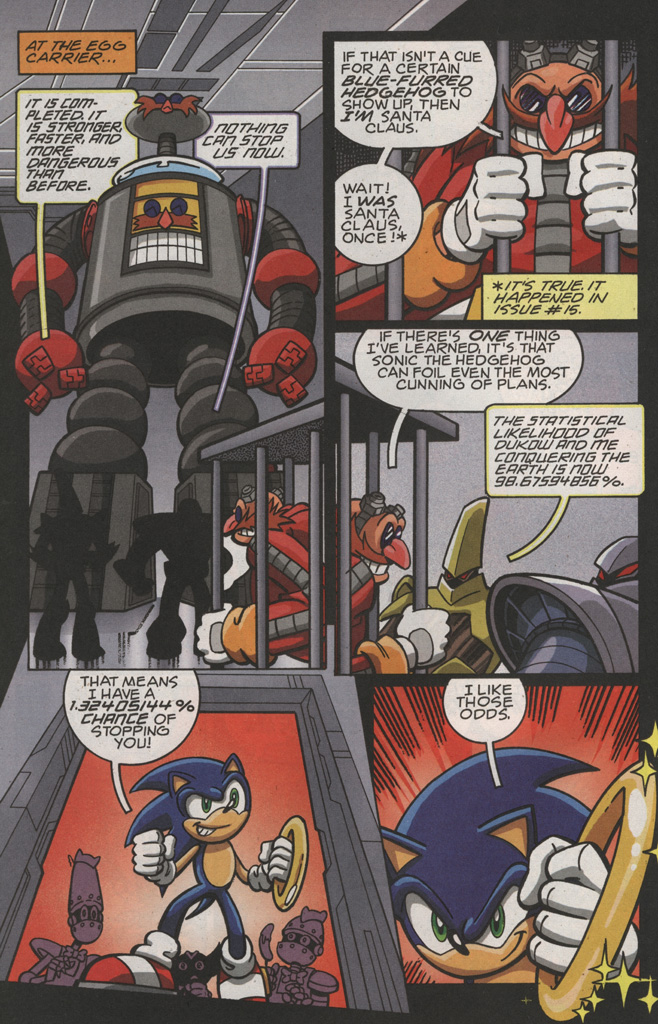 Read online Sonic X comic -  Issue #22 - 26