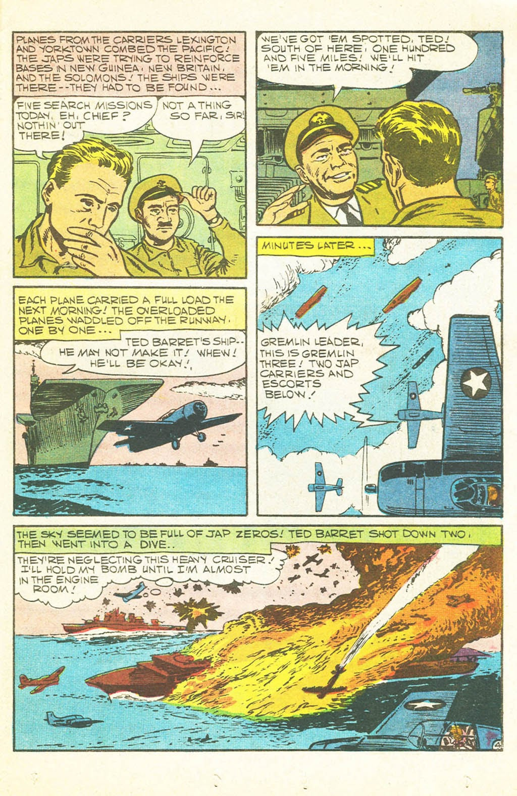 Read online Fightin' Navy comic -  Issue #128 - 19